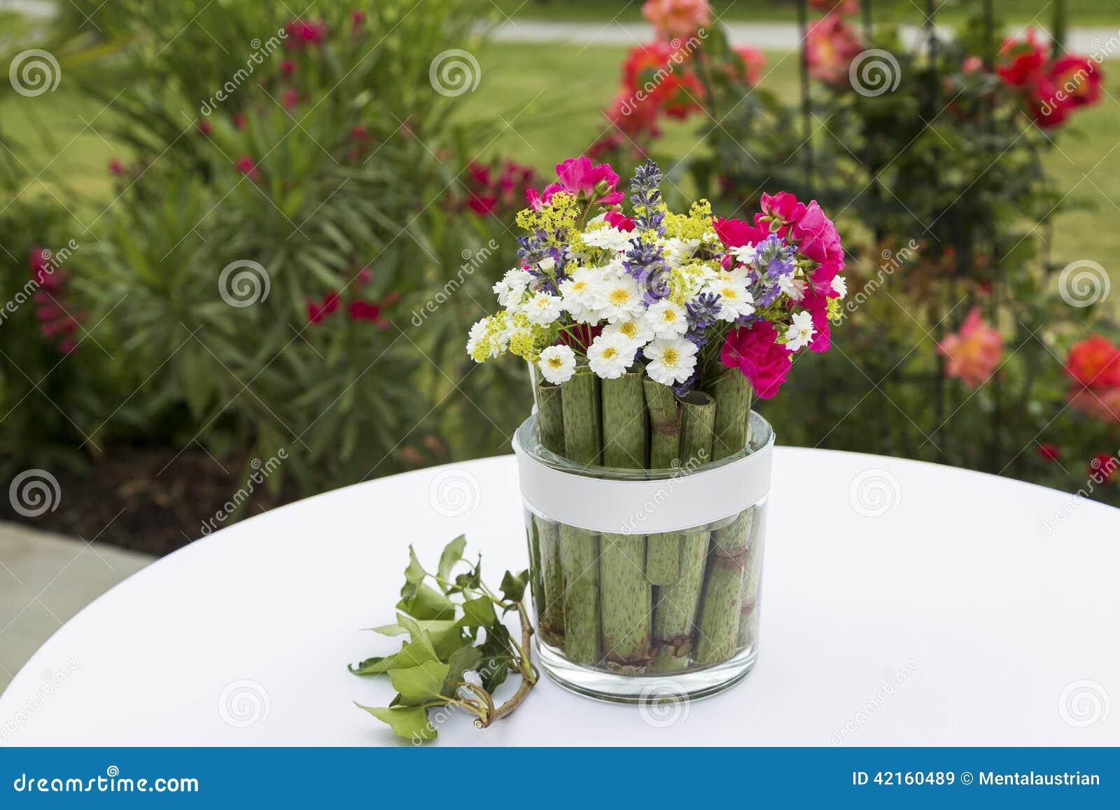 blumen in glas – bankroute, Garten und erstellen