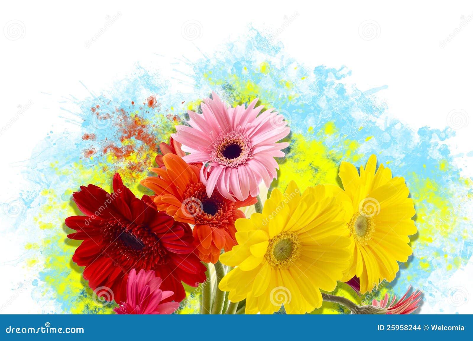 Blumen Kunst Stockfoto Bild Von Gardening Blumen Floral 25958244