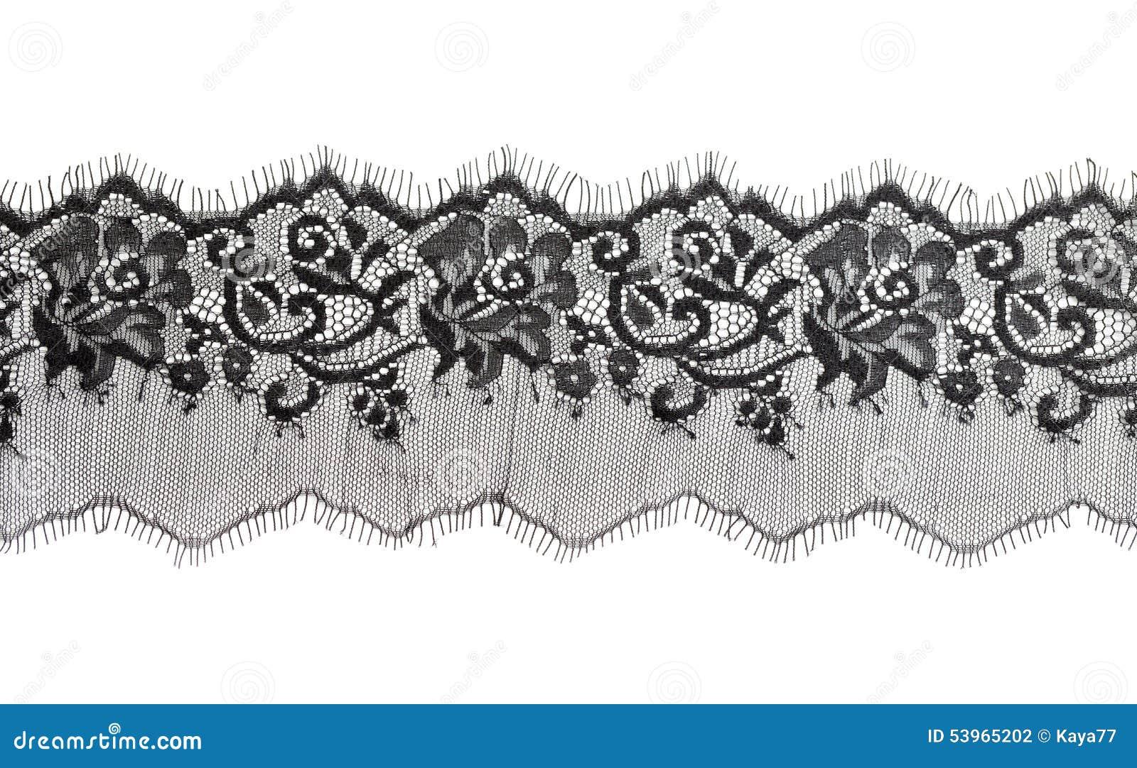 Blumenbeschaffenheit der schwarzen feinen Spitzes