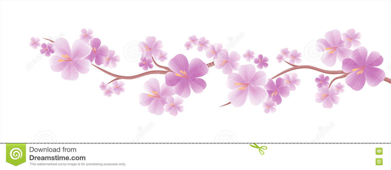 Blumendesign Fahne Der Blumen Background Flache Scharfentiefe