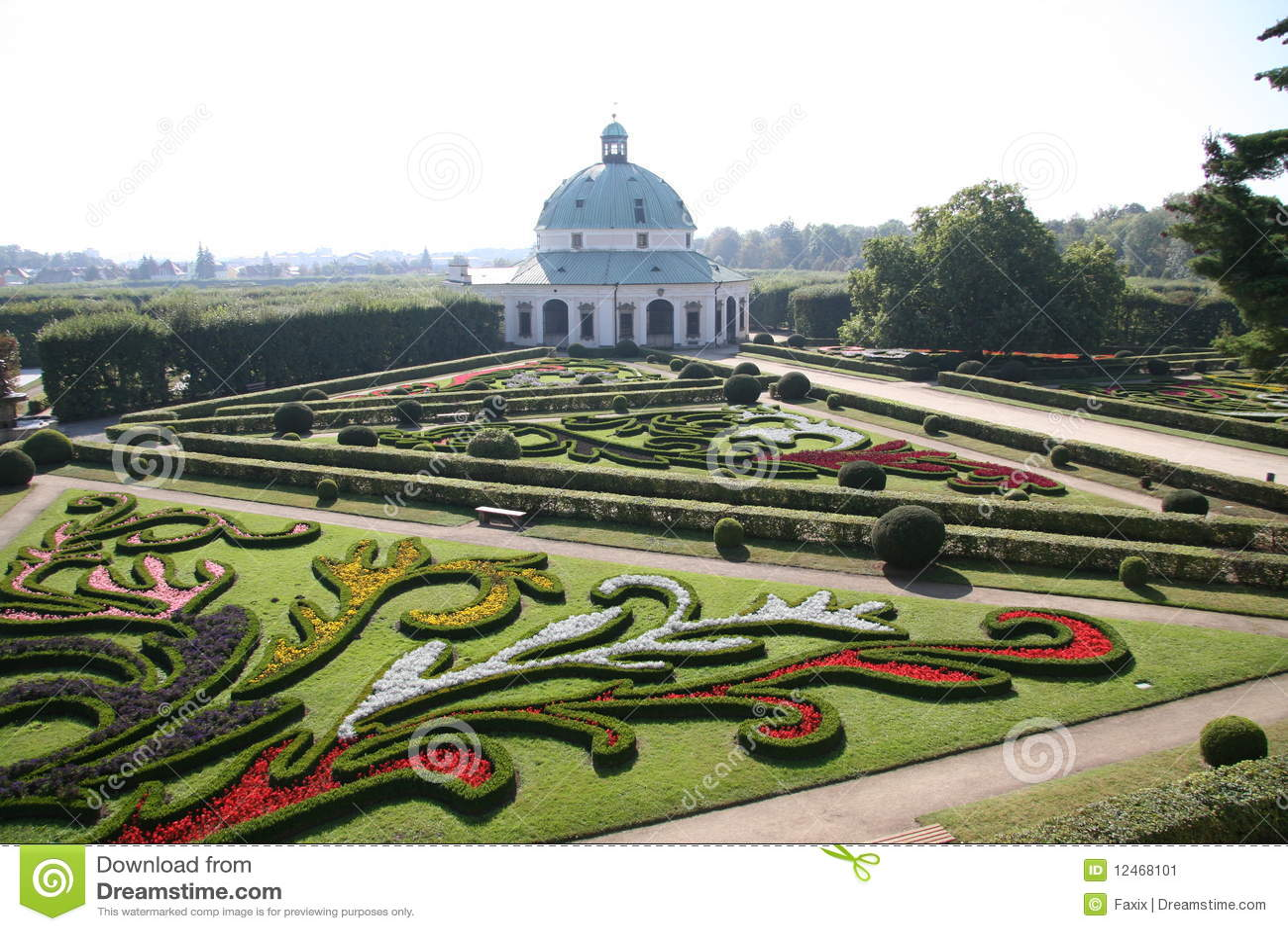 Blumengarten Bilder blumengarten kromeriz stockbild bild 12468101