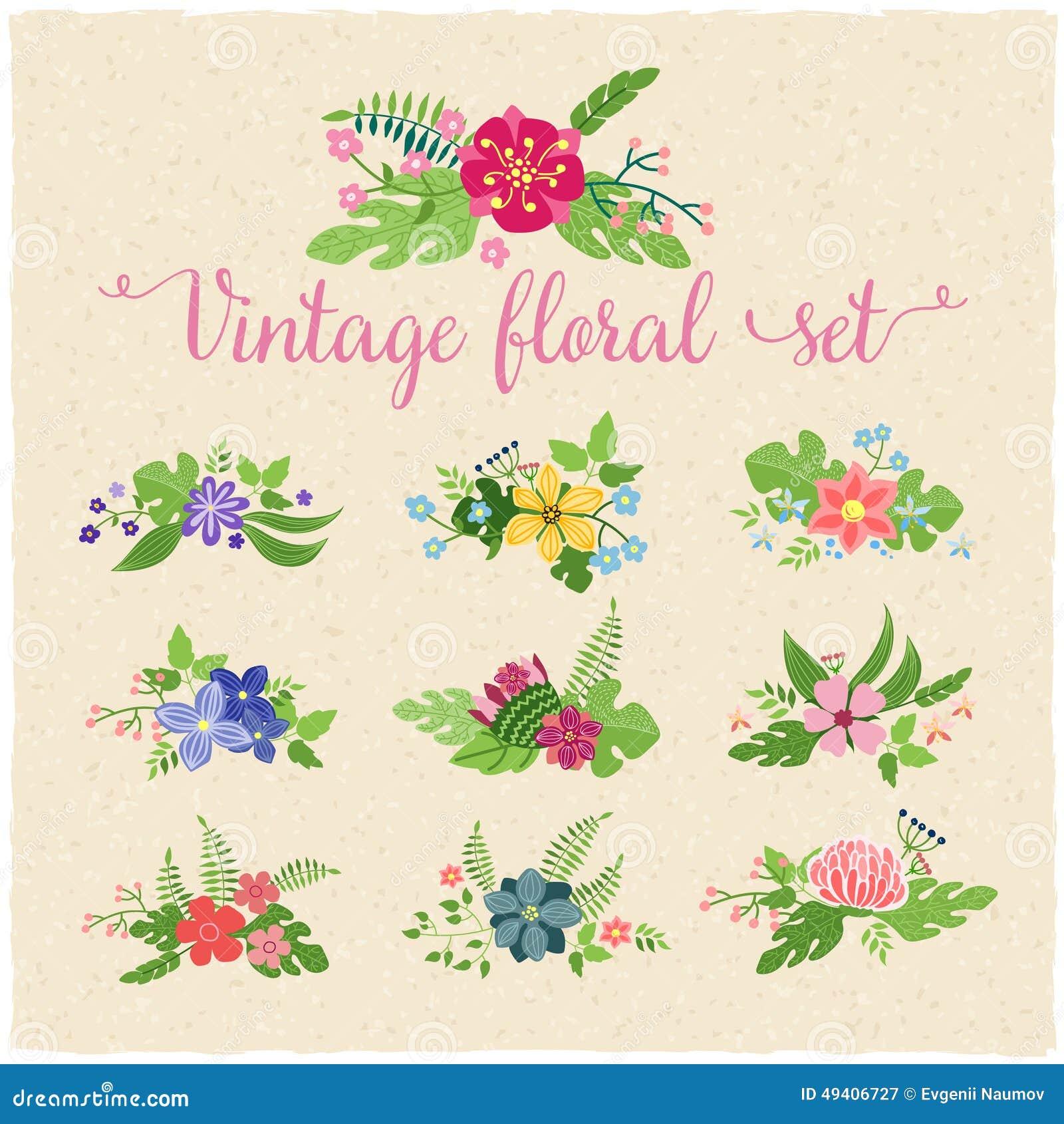 Download Blumengrenzillustration vektor abbildung. Illustration von dekoration - 49406727