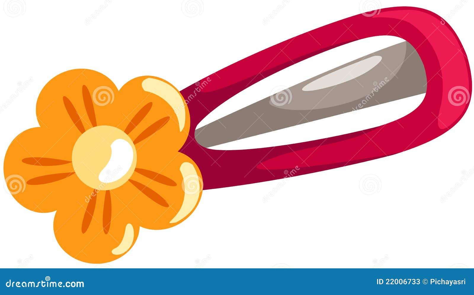 Blumenhaarclip