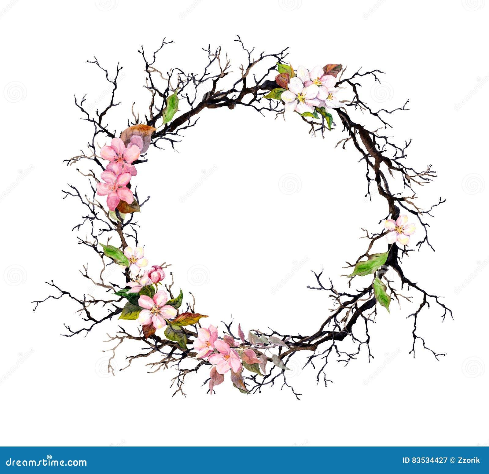 Blumenkranz Ausmalbild Malvorlage Blumen