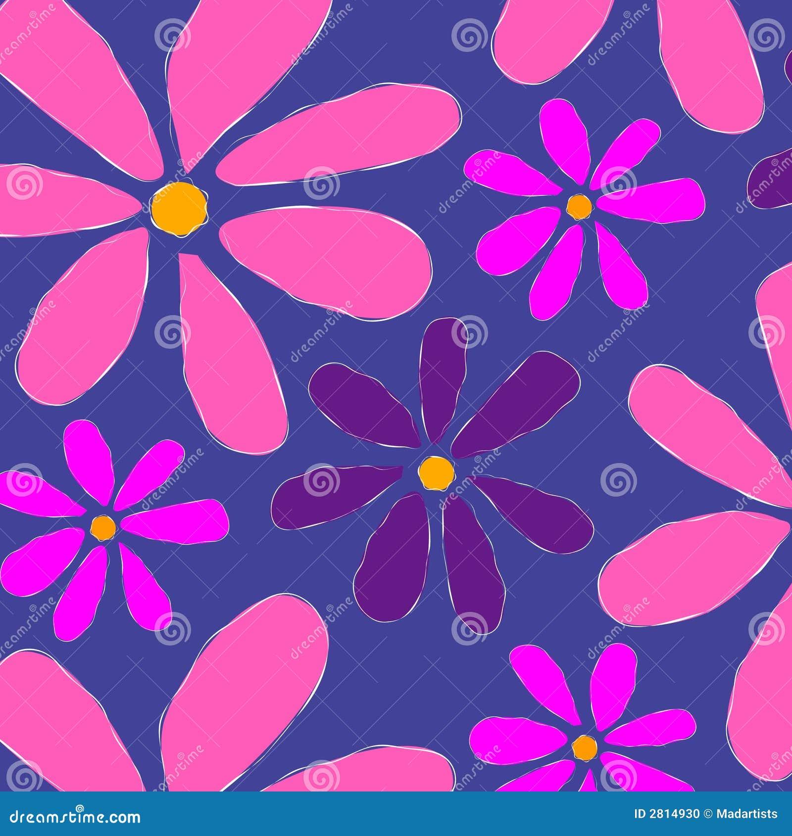 blumenmuster hintergrund rosa stockfoto bild 2814930. Black Bedroom Furniture Sets. Home Design Ideas