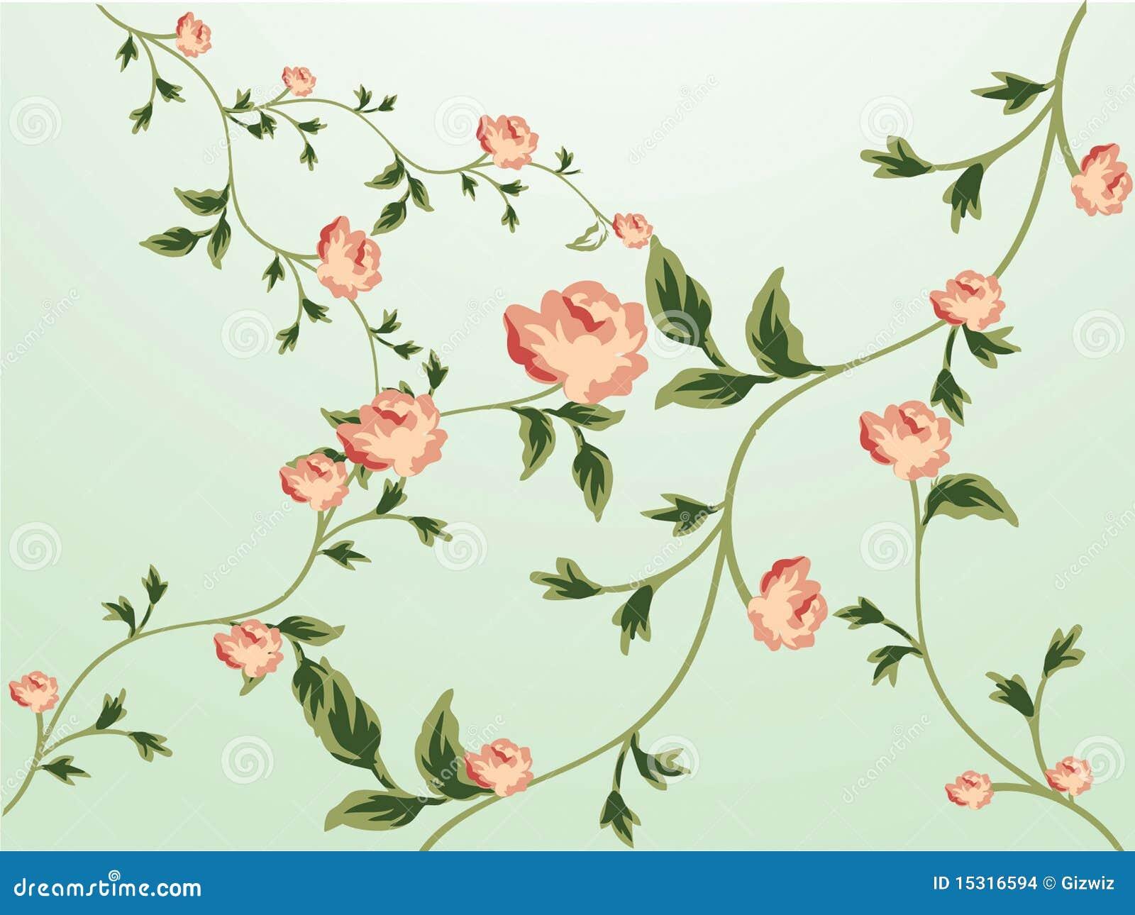 Blumenmuster tapete stockbilder bild 15316594 for Blumenmuster tapete