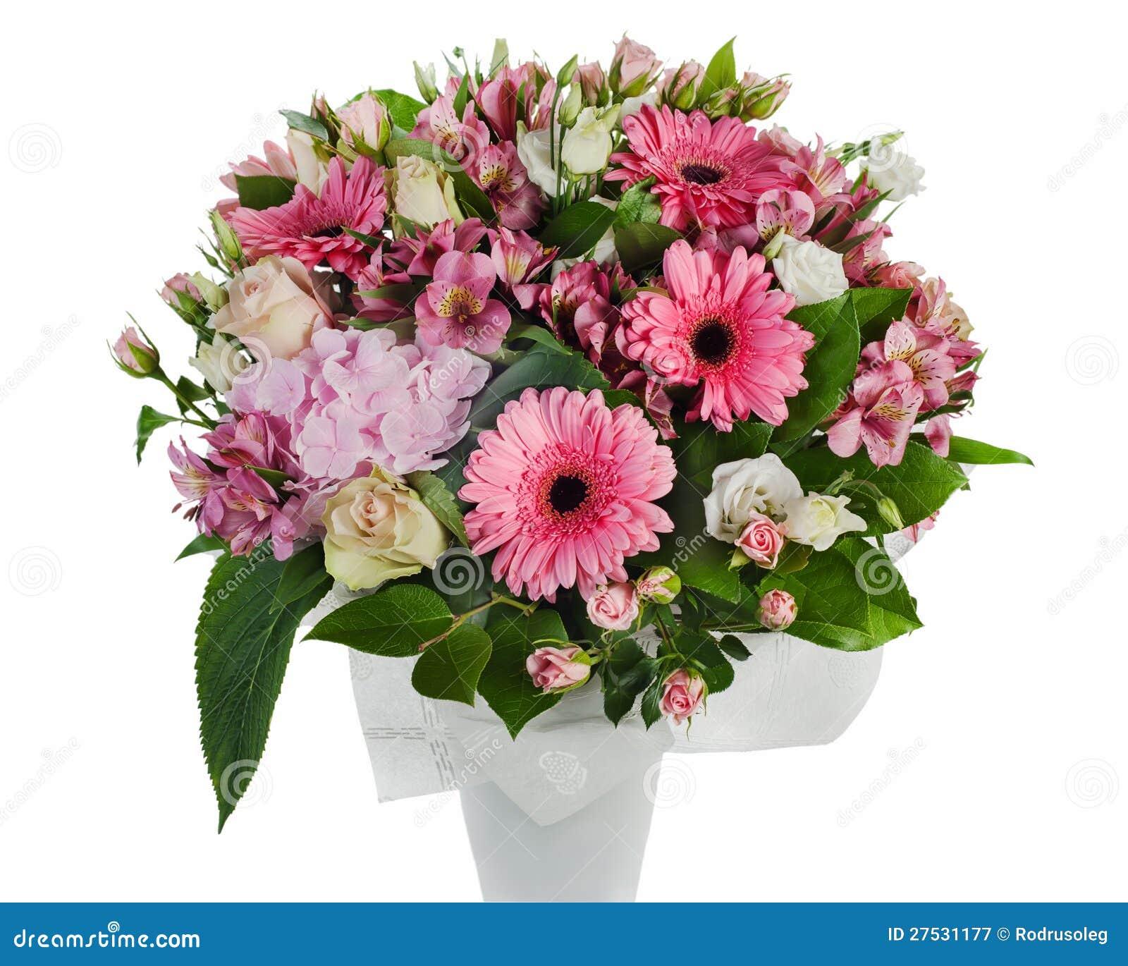 blumenstrau der rosen der lilien und der orchideen stockbild bild von farbe gruppe 27531177. Black Bedroom Furniture Sets. Home Design Ideas