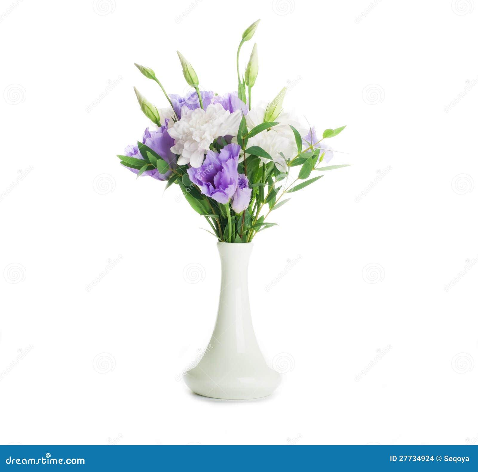 Blumenstrauß vom Weiß und vom Rosa