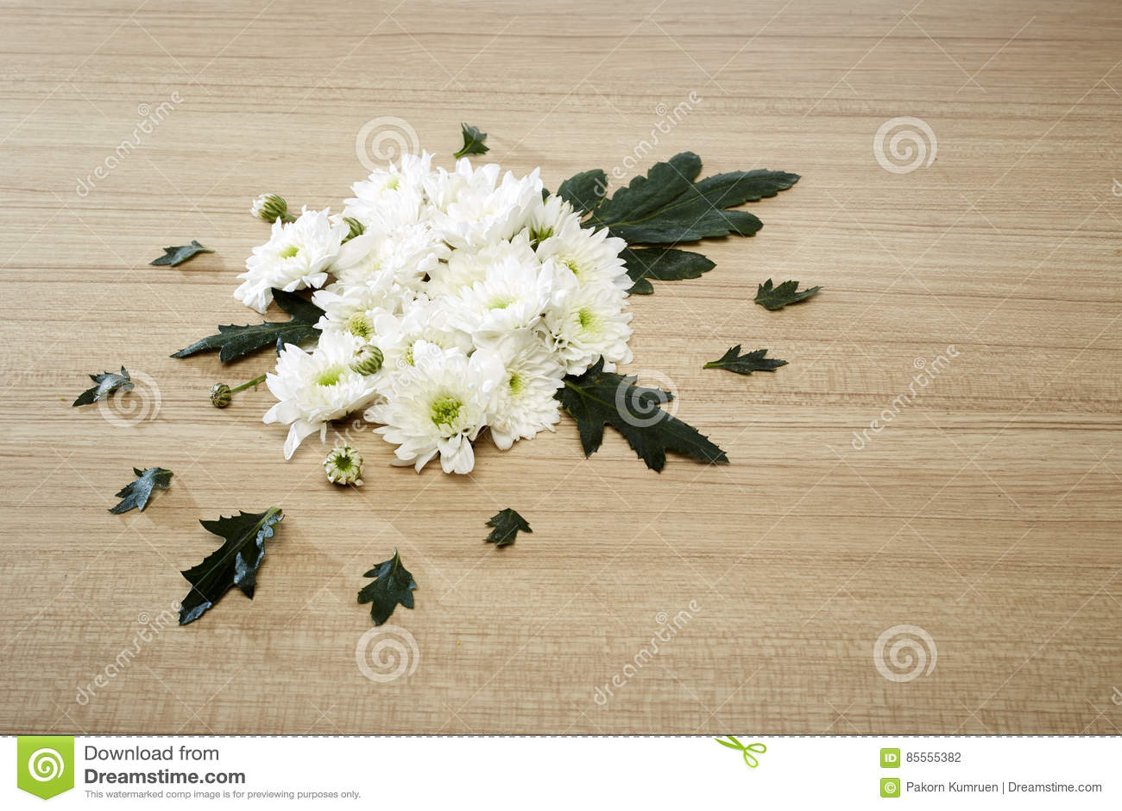 Blumenstrauß von Chrysanthemen