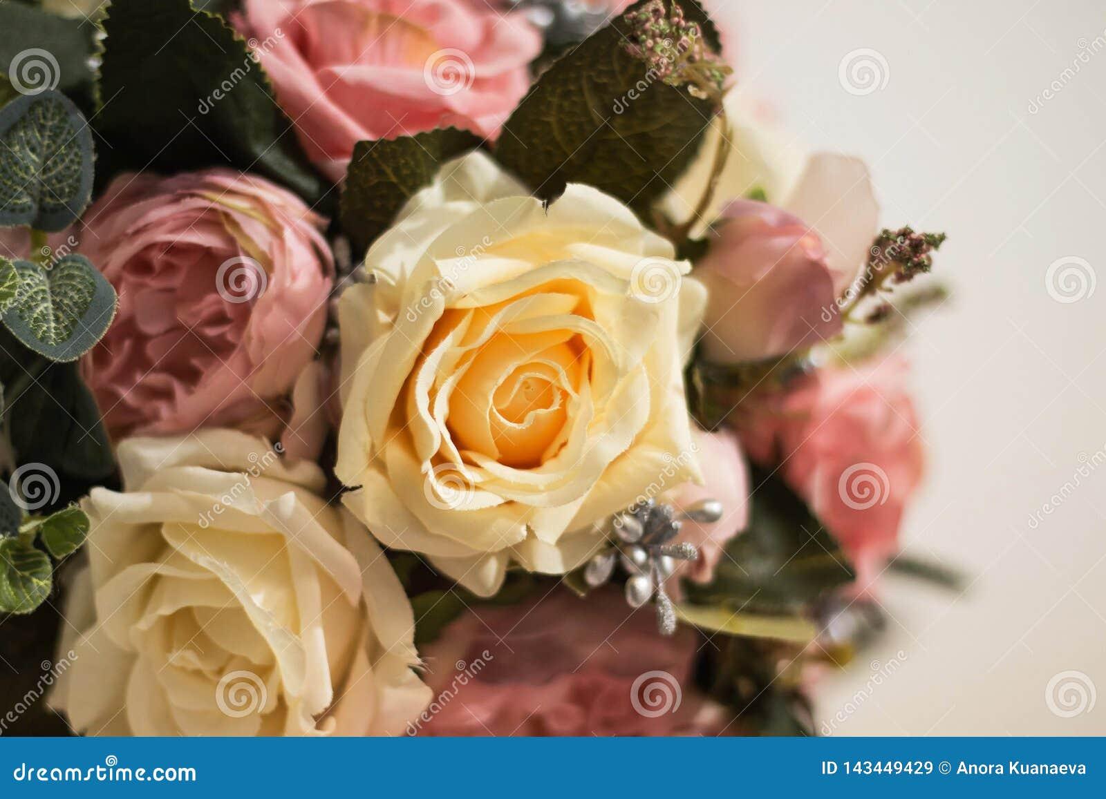 Blumenstrauß von Rosen