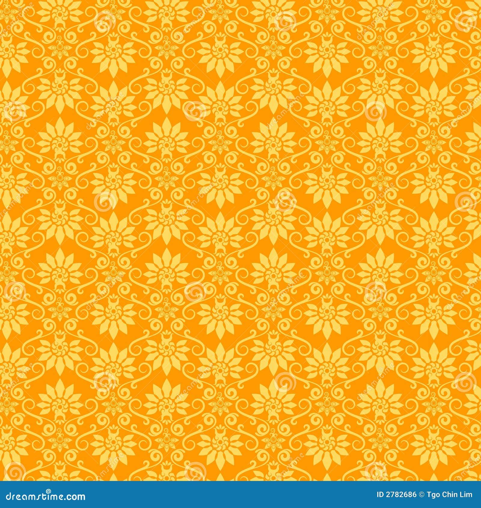 Blumentapeten-Muster