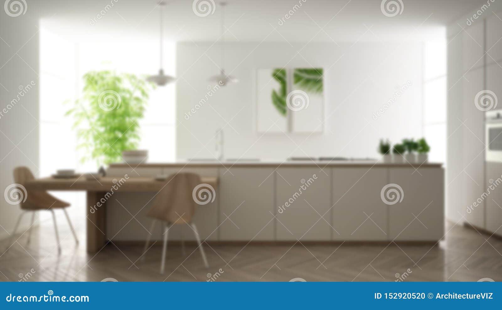 Blur Background Interior Design, Modern Clean Contemporary ...