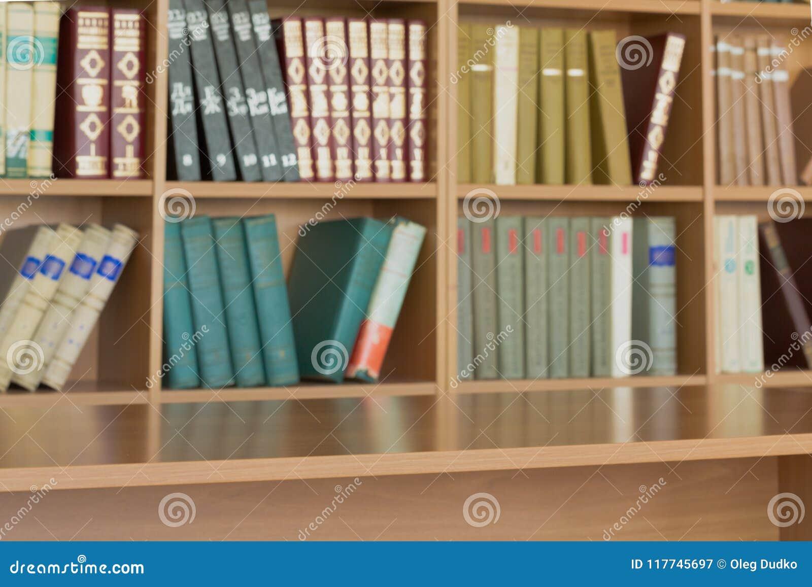 Blur Blurred Book Store Classroom Bookshelf Background