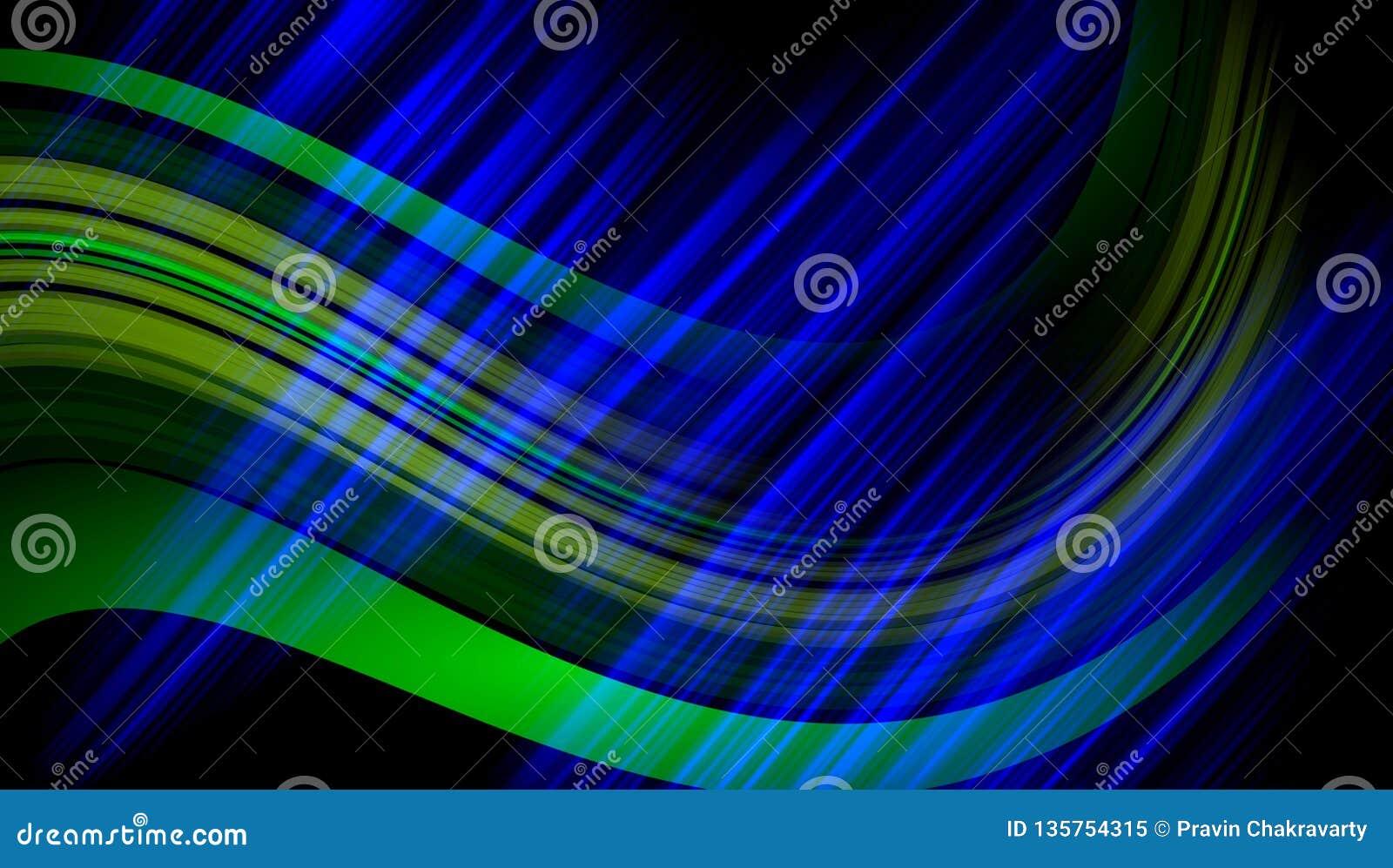 Blur Colorful Background Wallpaper Stock Illustration