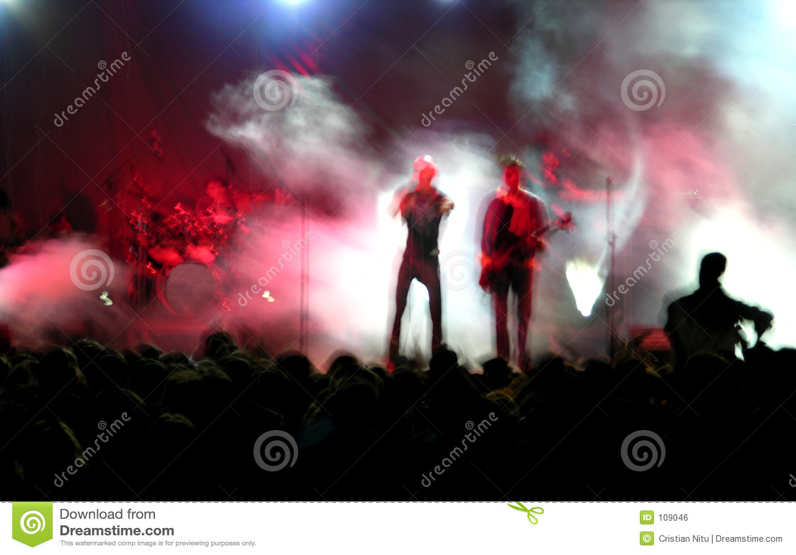 Blur concert rock