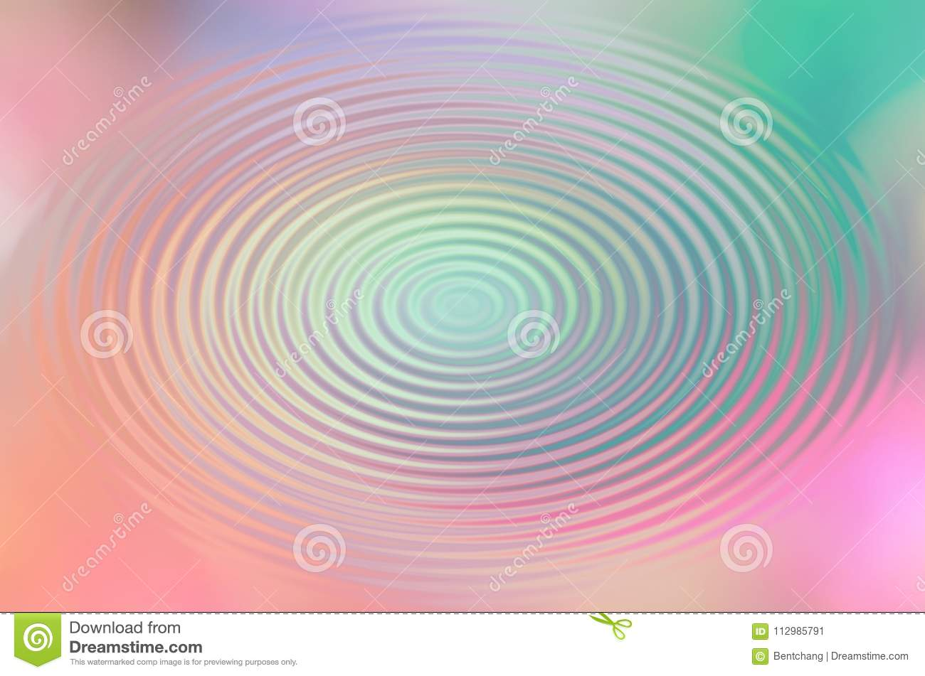 Blur motion, background or texture for design. Painting, bubble, pattern & smooth.