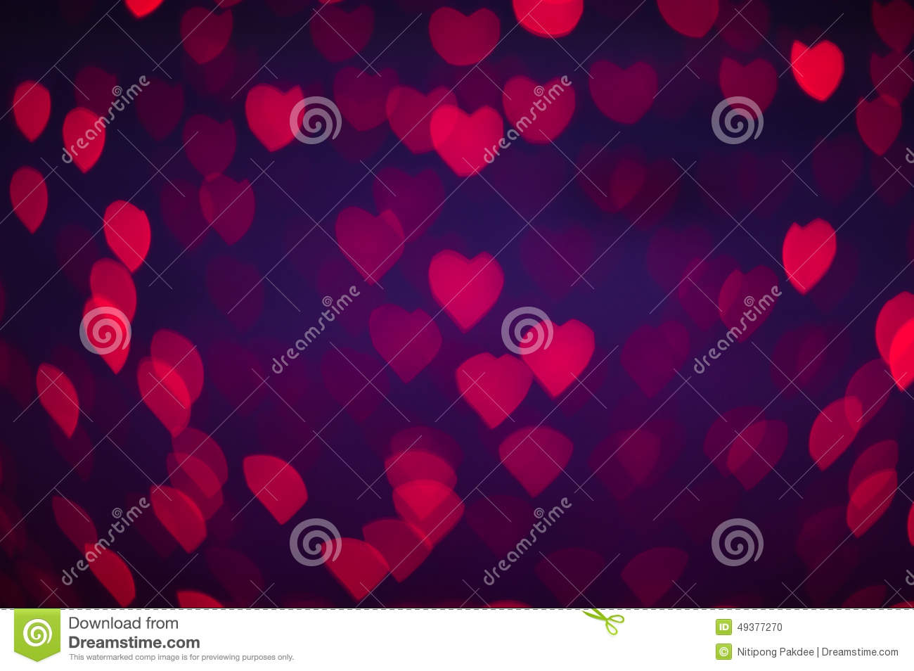 Blure Bokeh Heart Wallpapers And Background Stock Photo Image Of