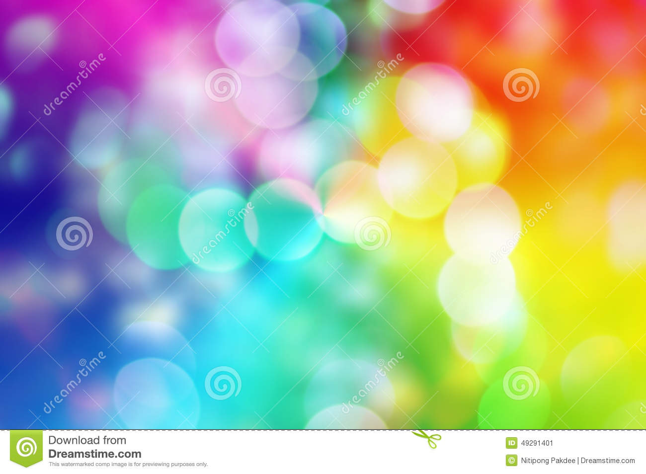 Blure Bokeh Rainbow Texture Wallpapers And Backgrounds