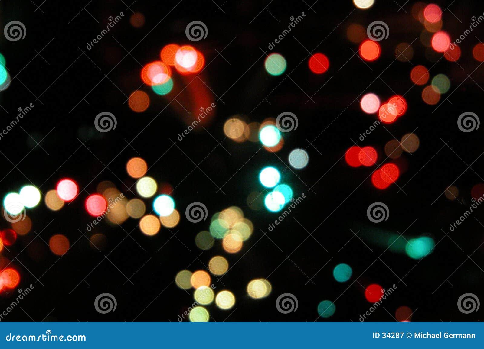 Blured oświetlenia