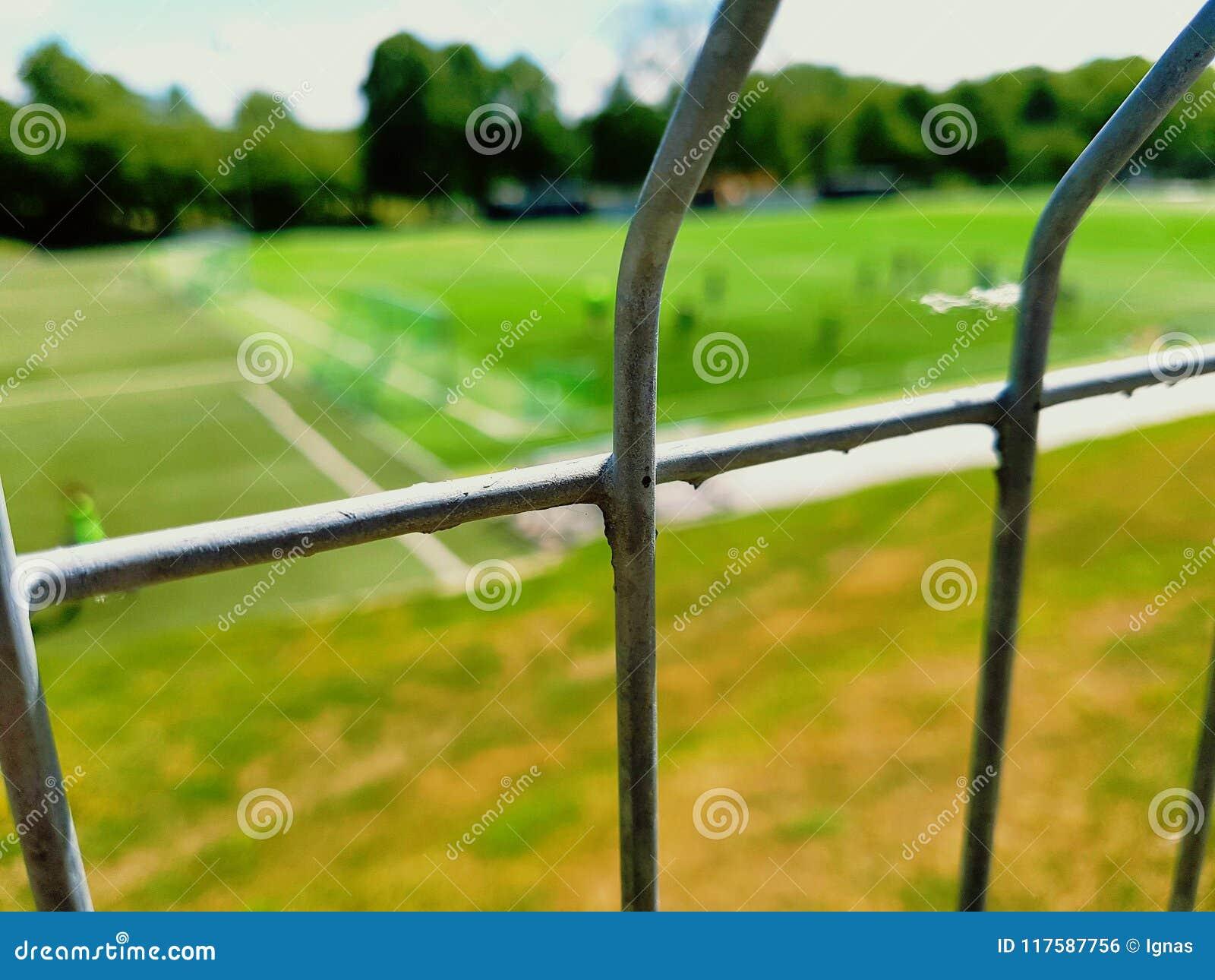 Bluring staket