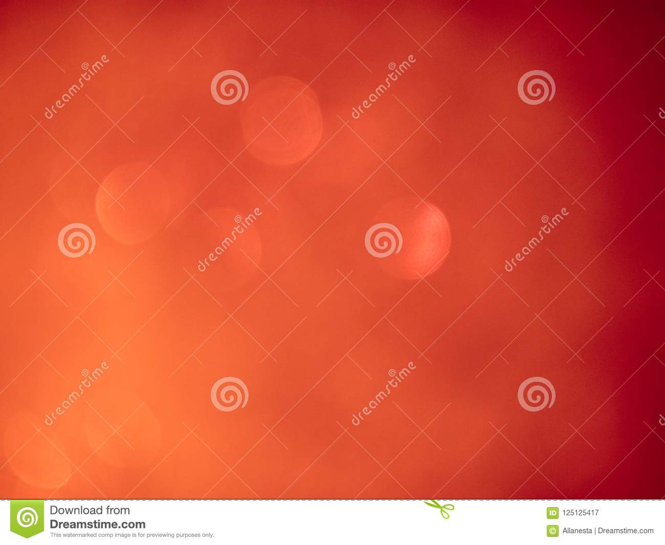 Blurred background lights. Abstract defocused gold, white, red and yellow glitters texture. Shining glowing effects
