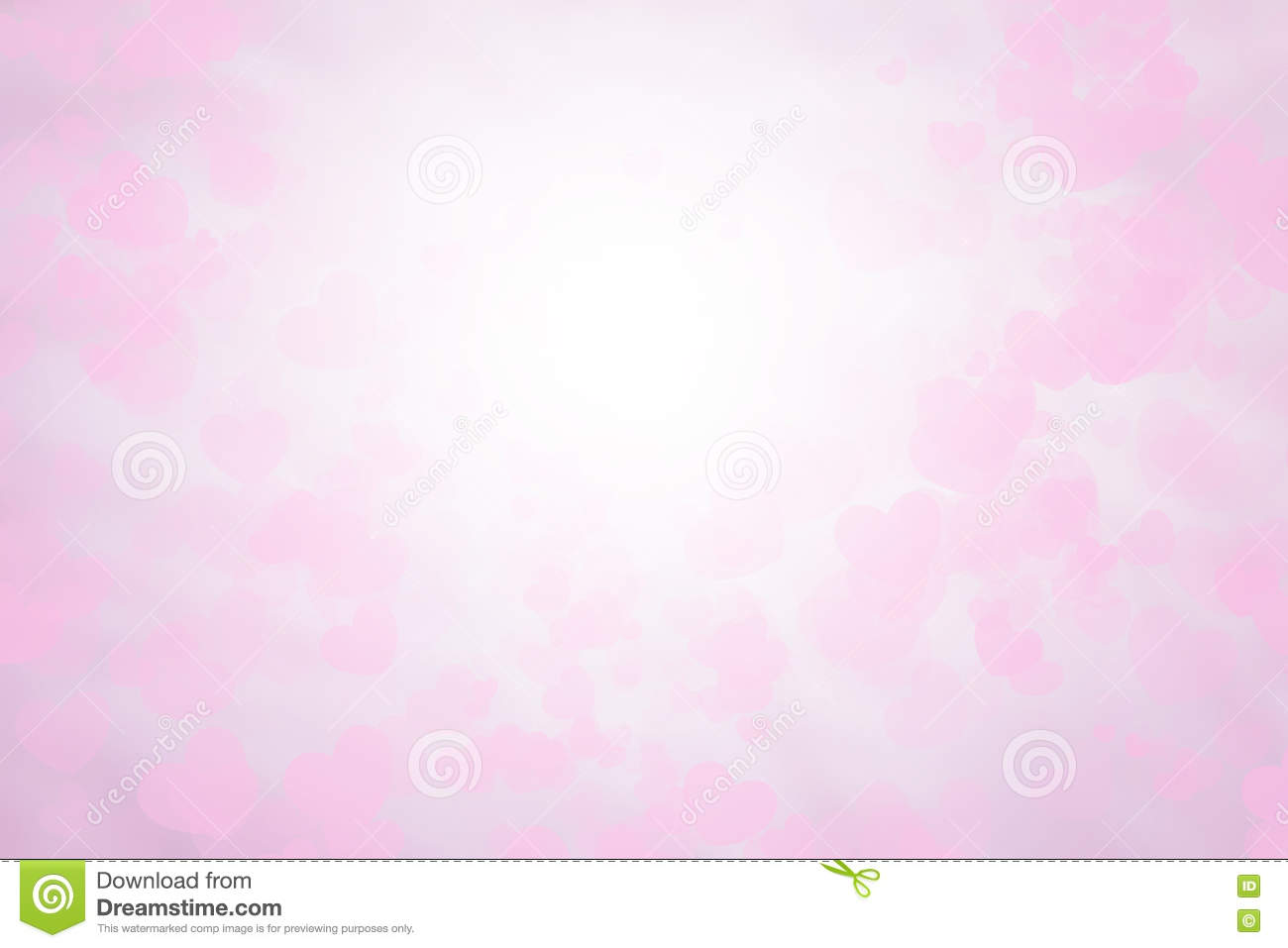 Blurred Background Valentine S Card Pink And White Wallpaper Sweet Colors And Pastel Shades Stock Illustration Illustration Of Celebration Border 71347167