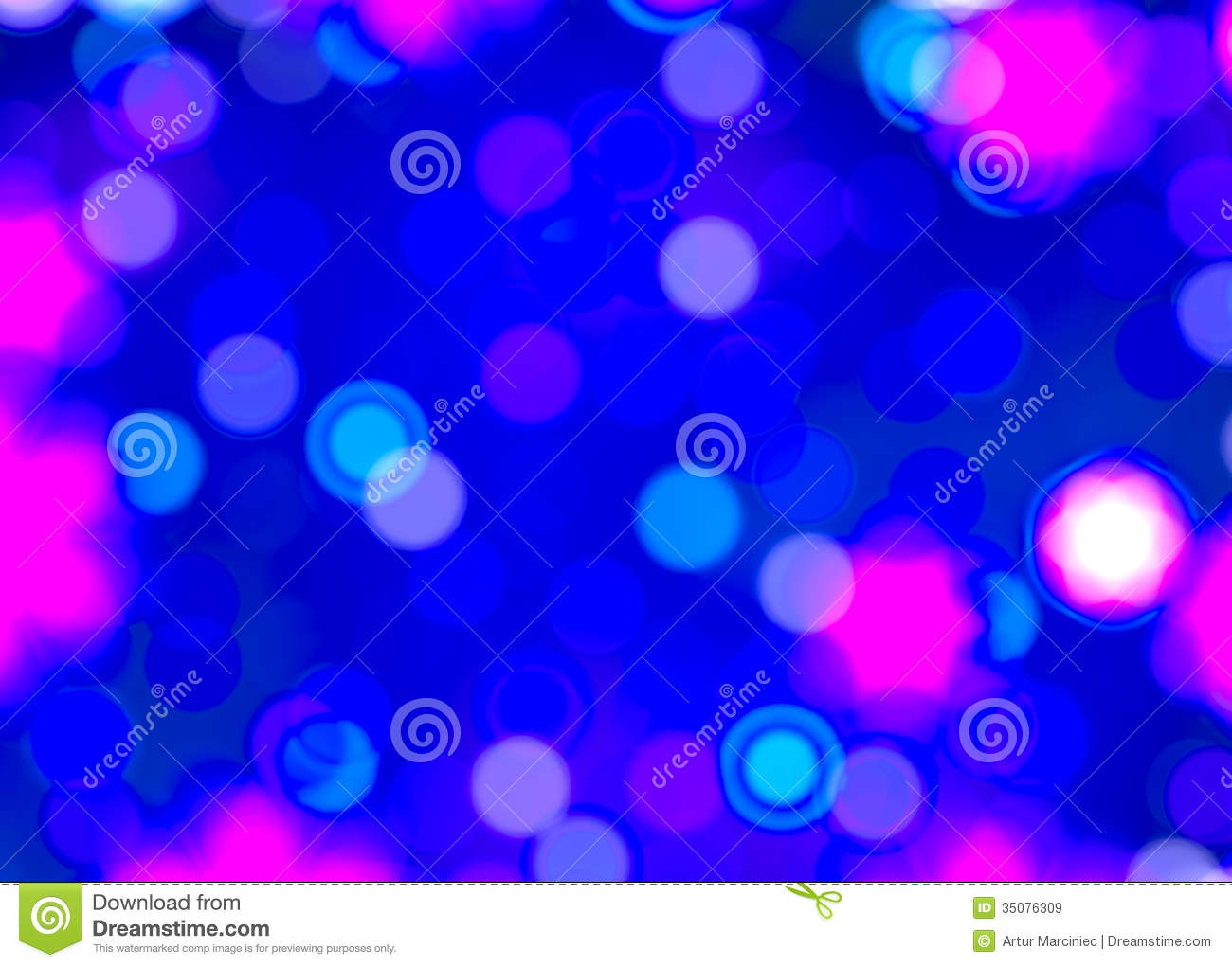 Blurred Christmas Lights Background. Royalty Free Stock ...