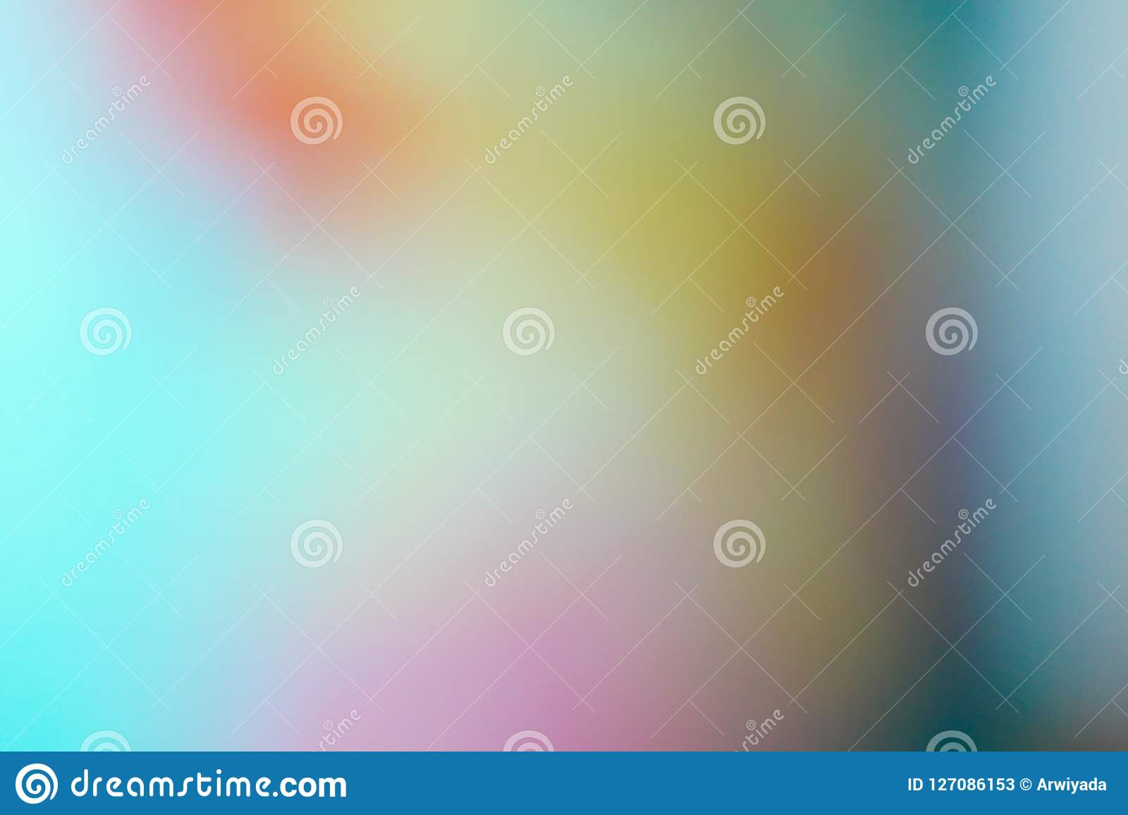 Blurred colourful background abstract blur gradient with bright