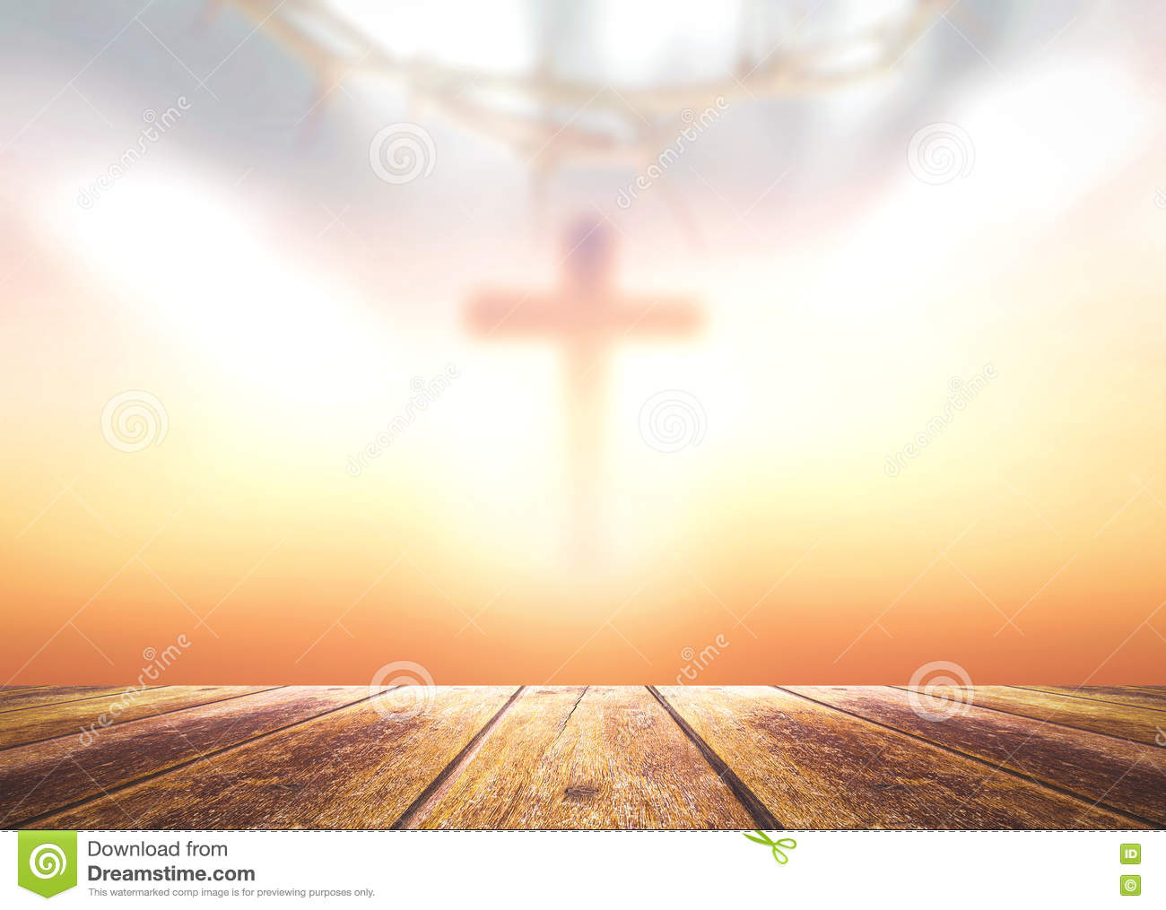 Good Friday And Easter Sunday Concept Stock Photo Image