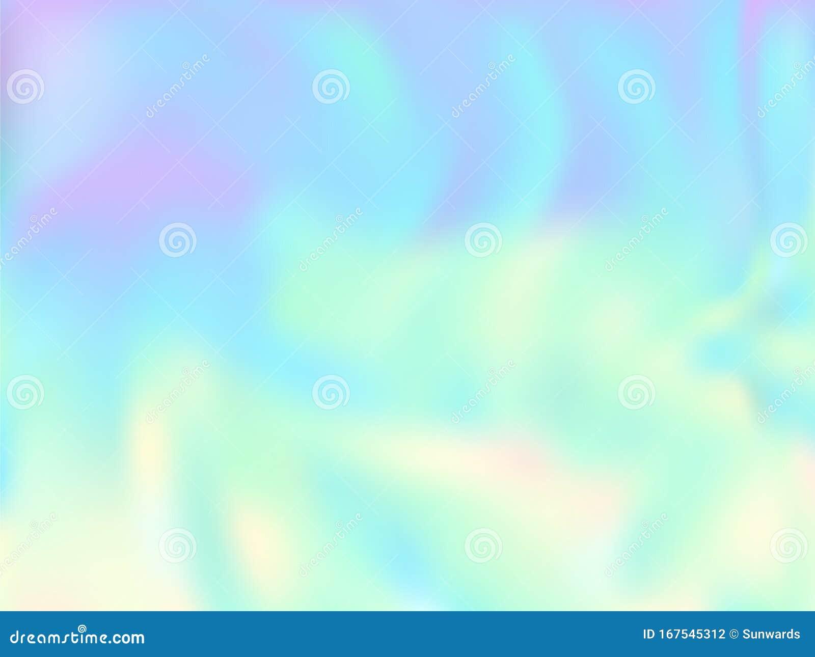 Blurred Hologram Texture Gradient Wallpaper Stock Vector