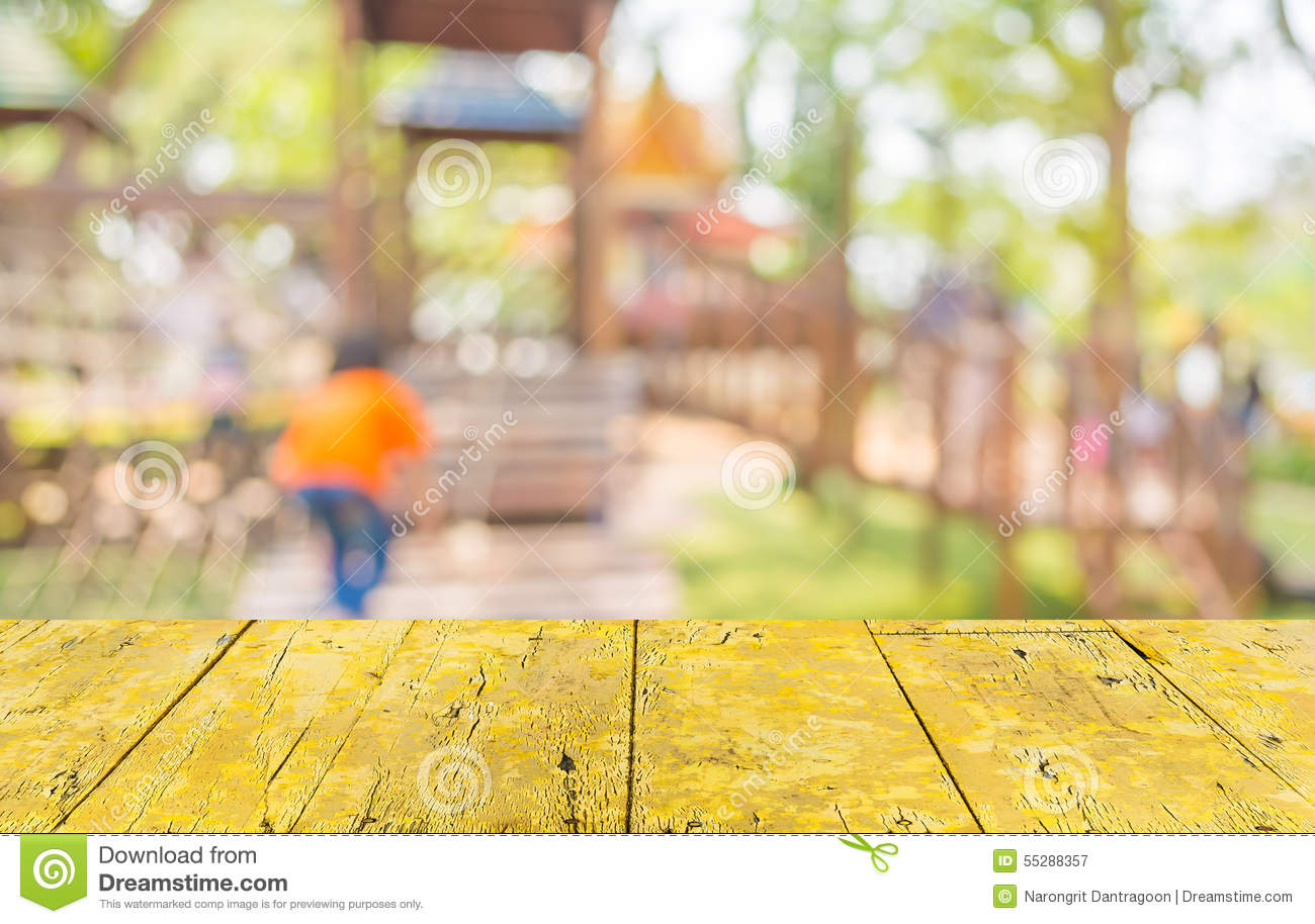 Blurred image for background of children s playground