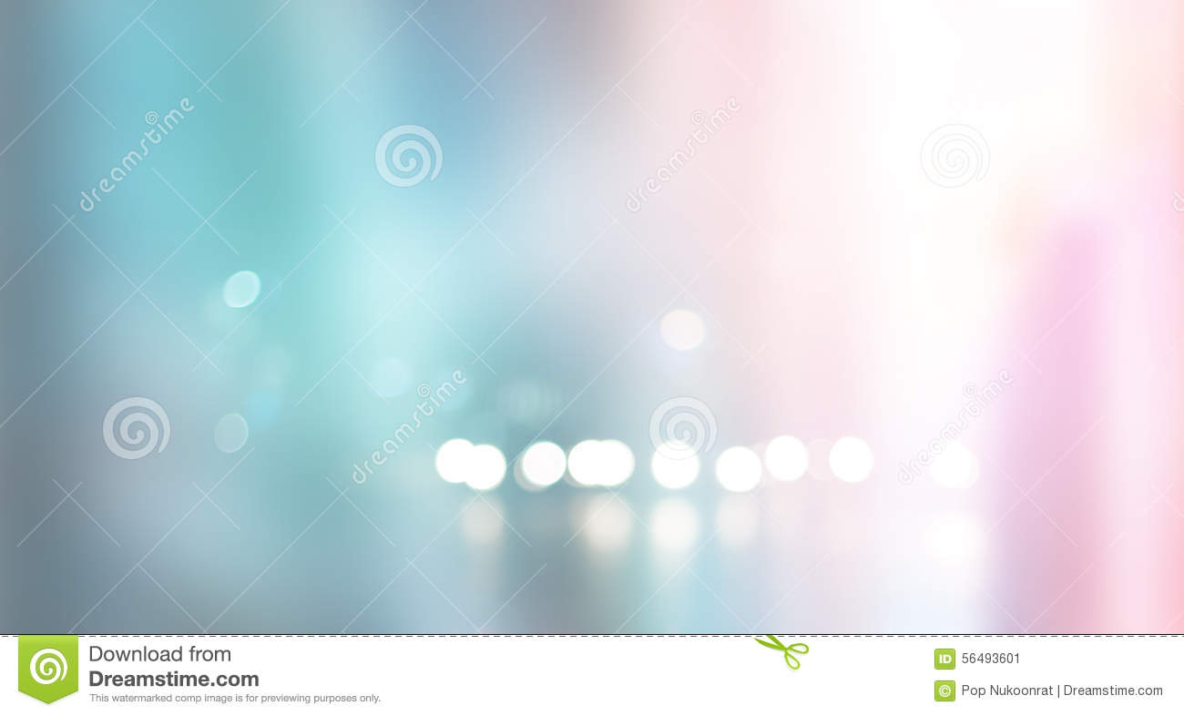 Blurred pastel and colorful urban building background scene