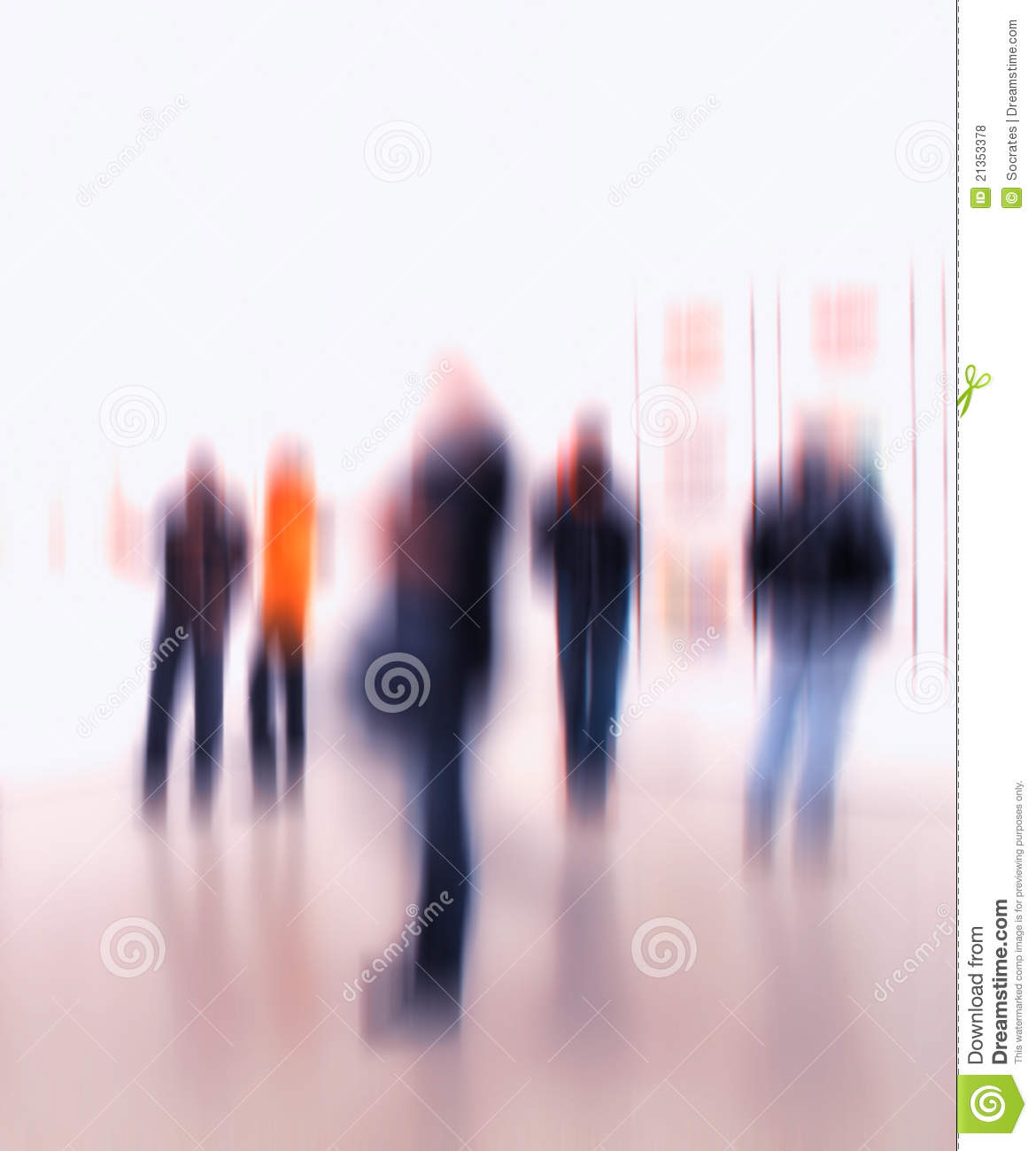 Blurred People Royalty Free Stock Photos - Image: 21353378