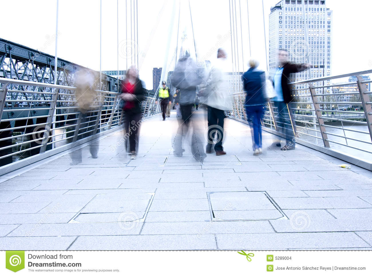 Blurred People Stock Images - Image: 5289004