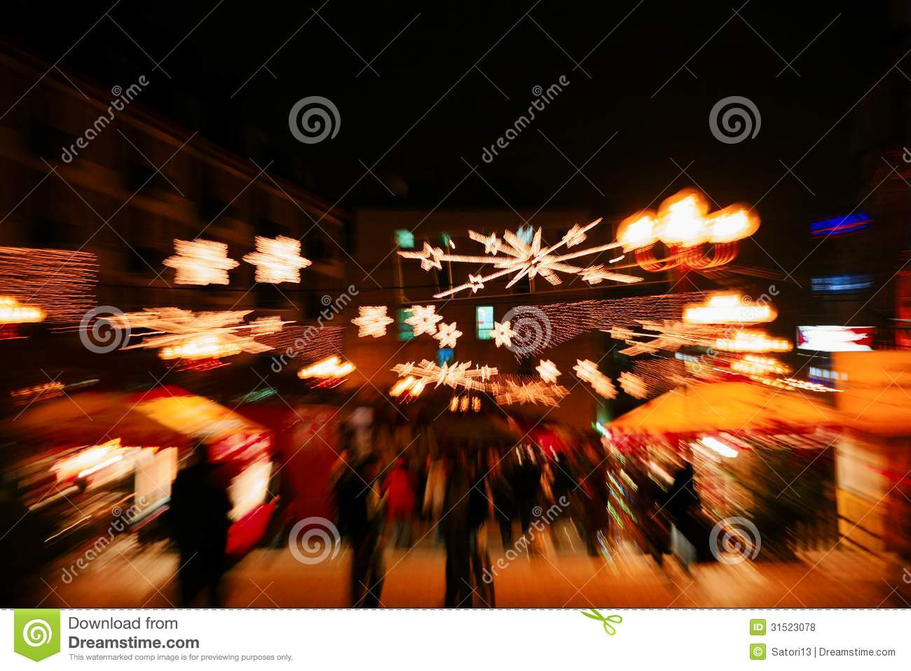 Blurred People Royalty Free Stock Photos - Image: 31523078