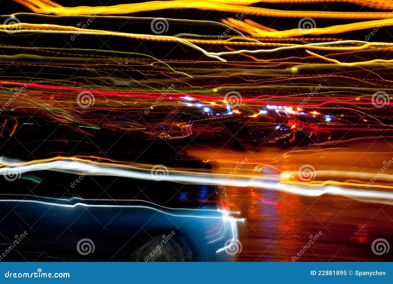 Blurred Street Lights Royalty Free Stock Photo - Image ...  Blurred Street ...