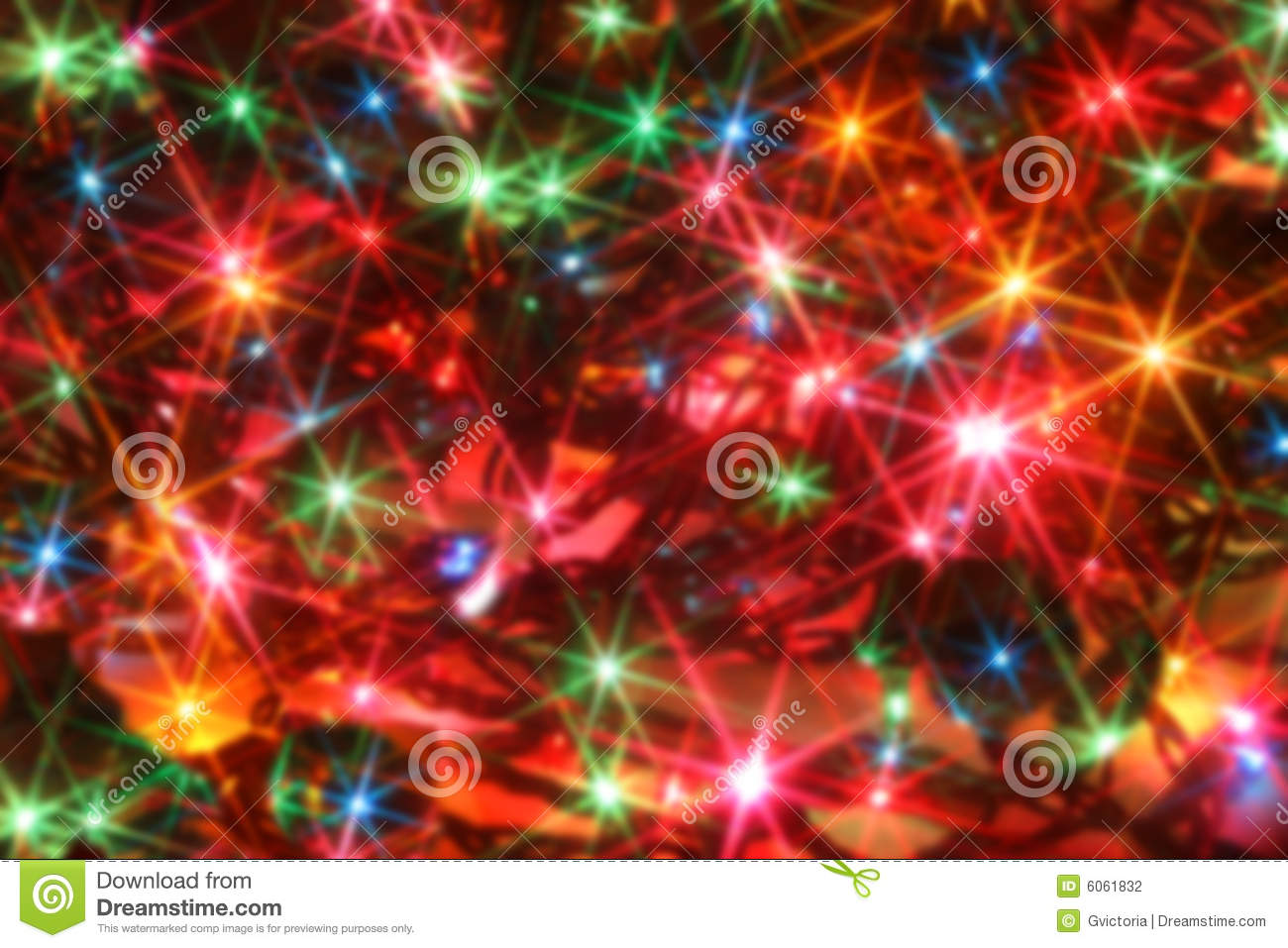 Twinkling Christmas Lights