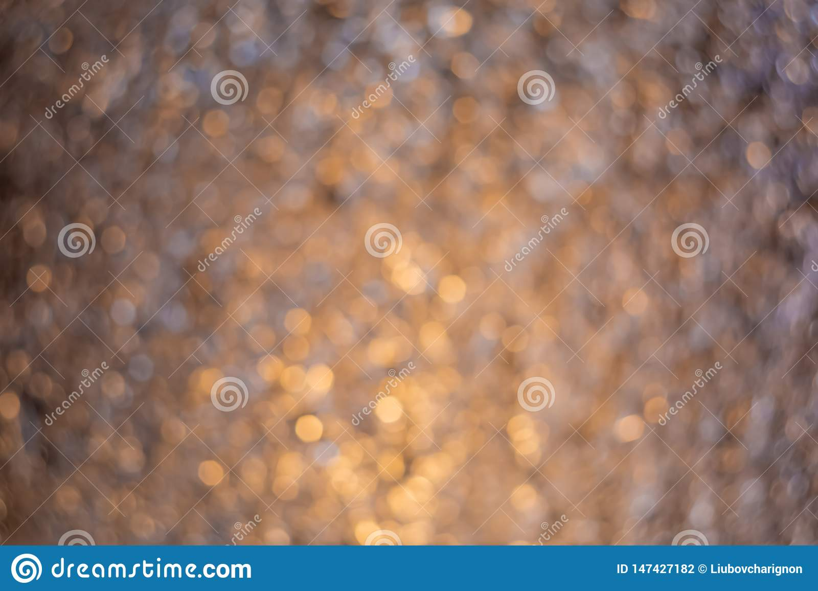 Blurry background. Gradient with dark silver crumpled foil. Blur colorful texture with bokeh. Art photography.