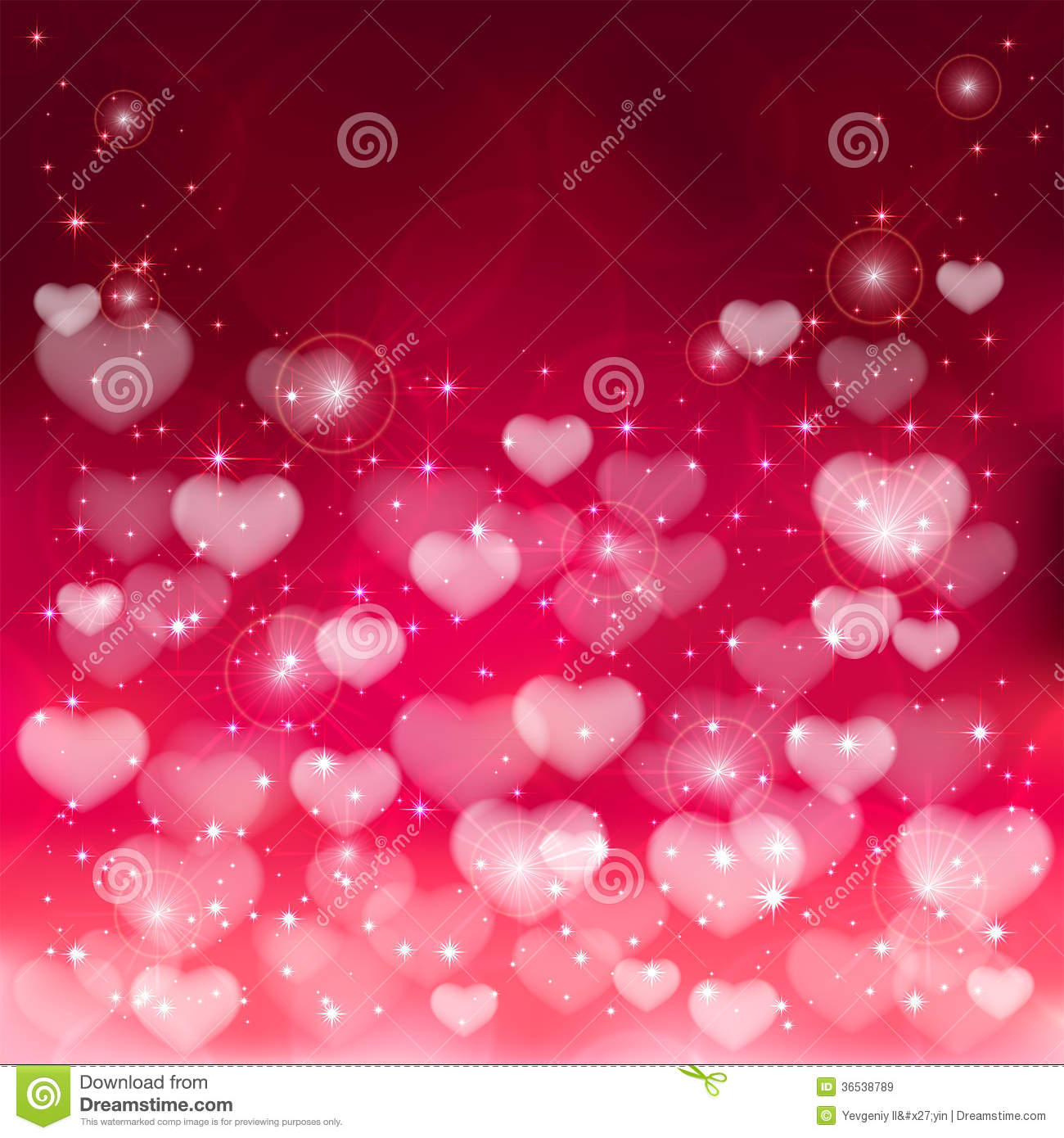 Blurry Hearts Royalty Free Stock Images - Image: 36538789