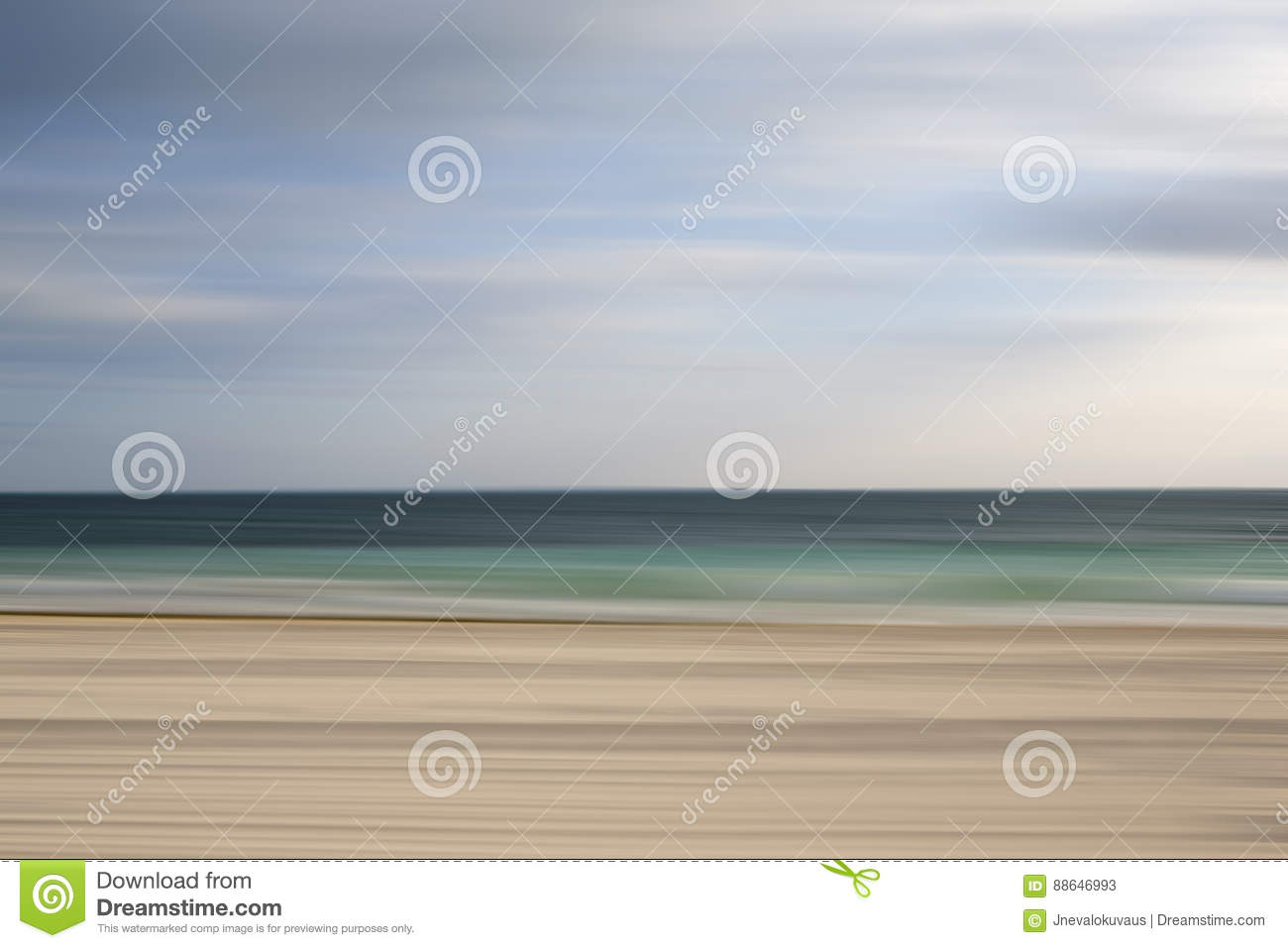 Blurry Image Of Beautiful Beach In The Caribbean Stock Image Image Of Beautiful Landscape 88646993