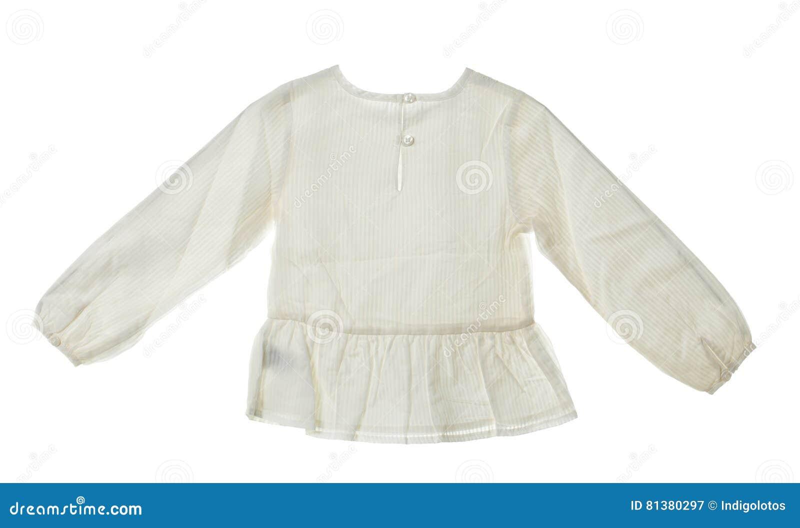 pretty nice 39707 09ce4 Blusa Di Seta Bianca Elegante Immagine Stock - Immagine di ...