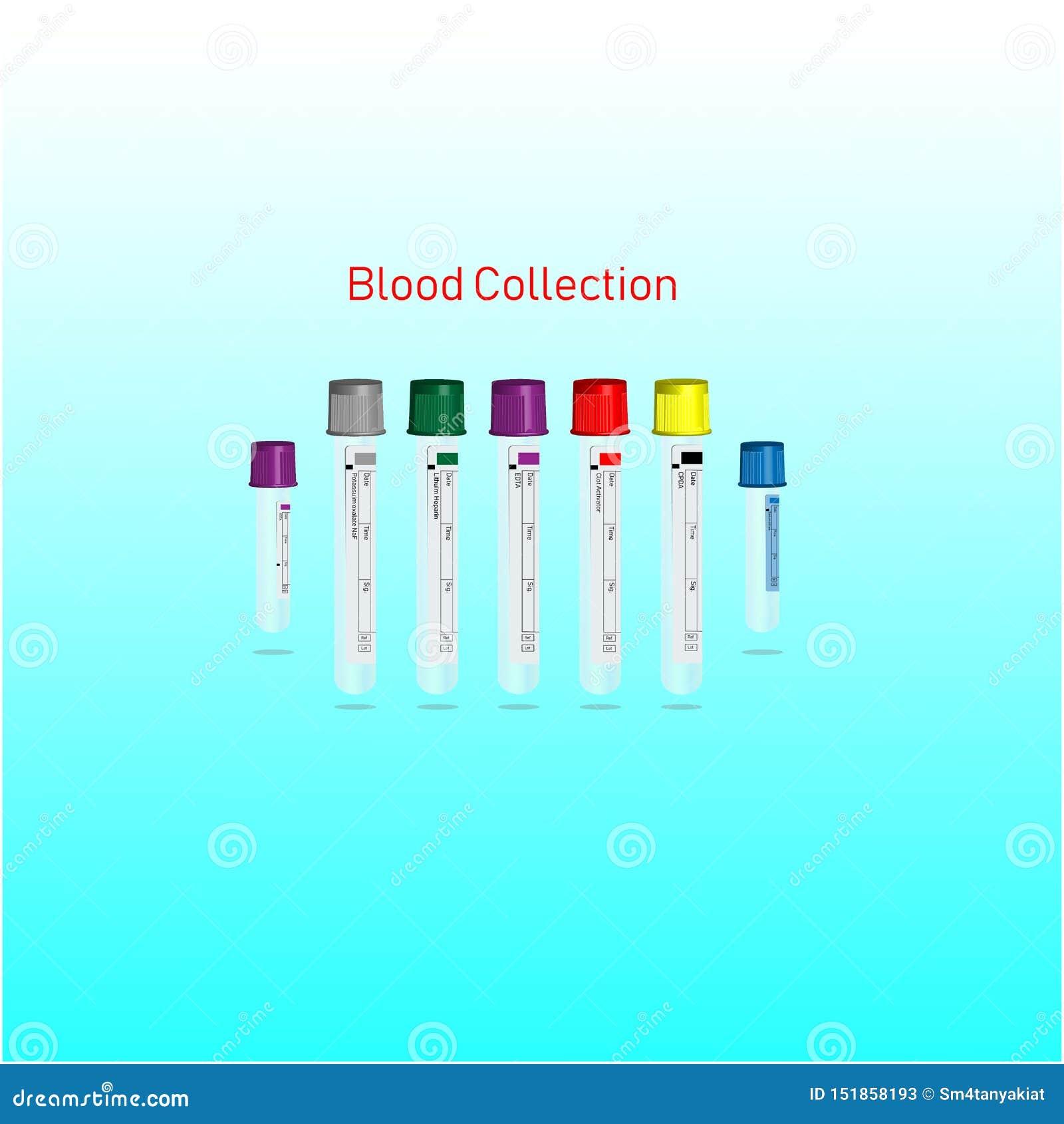 Blutsammlungsrohr für klinisches