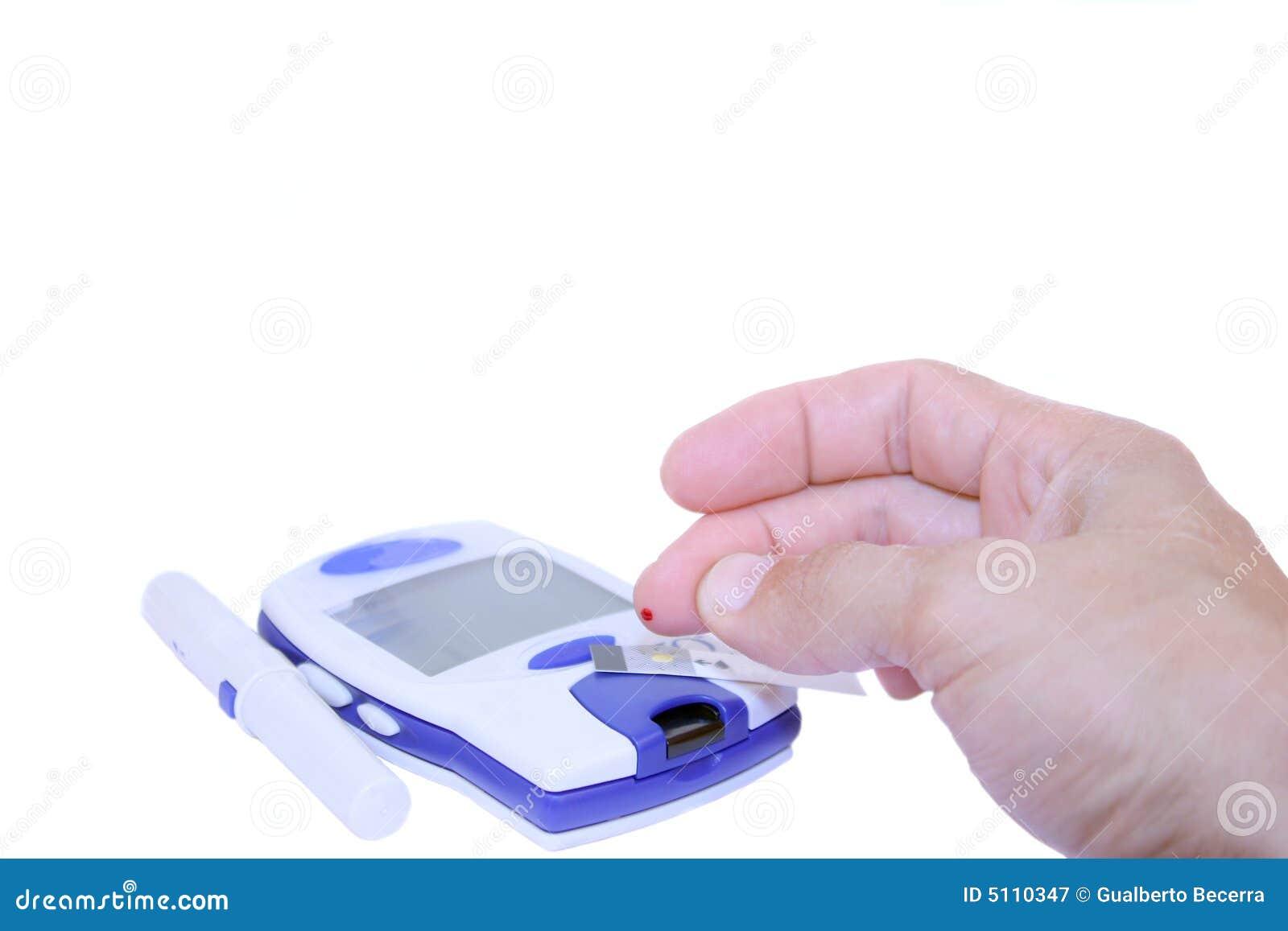 Blutzuckerprüfung