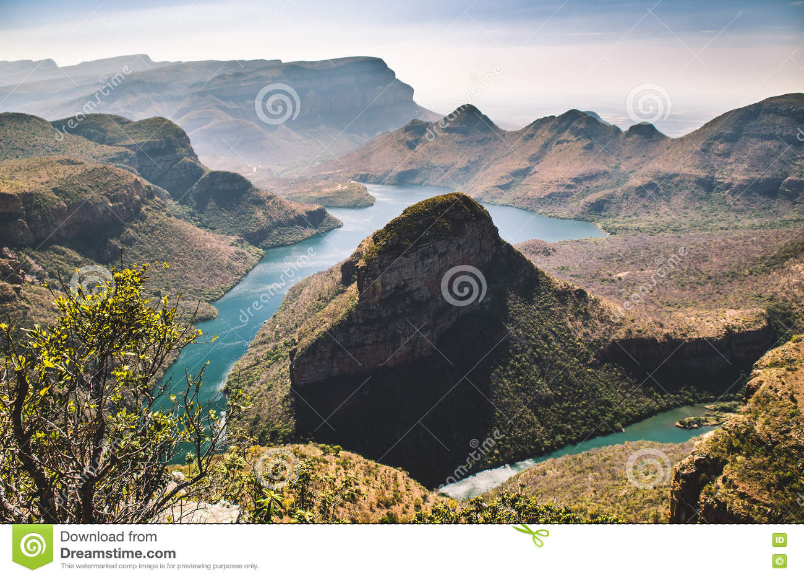 Blyde flodkanjon, Mpumalanga region, Sydafrika