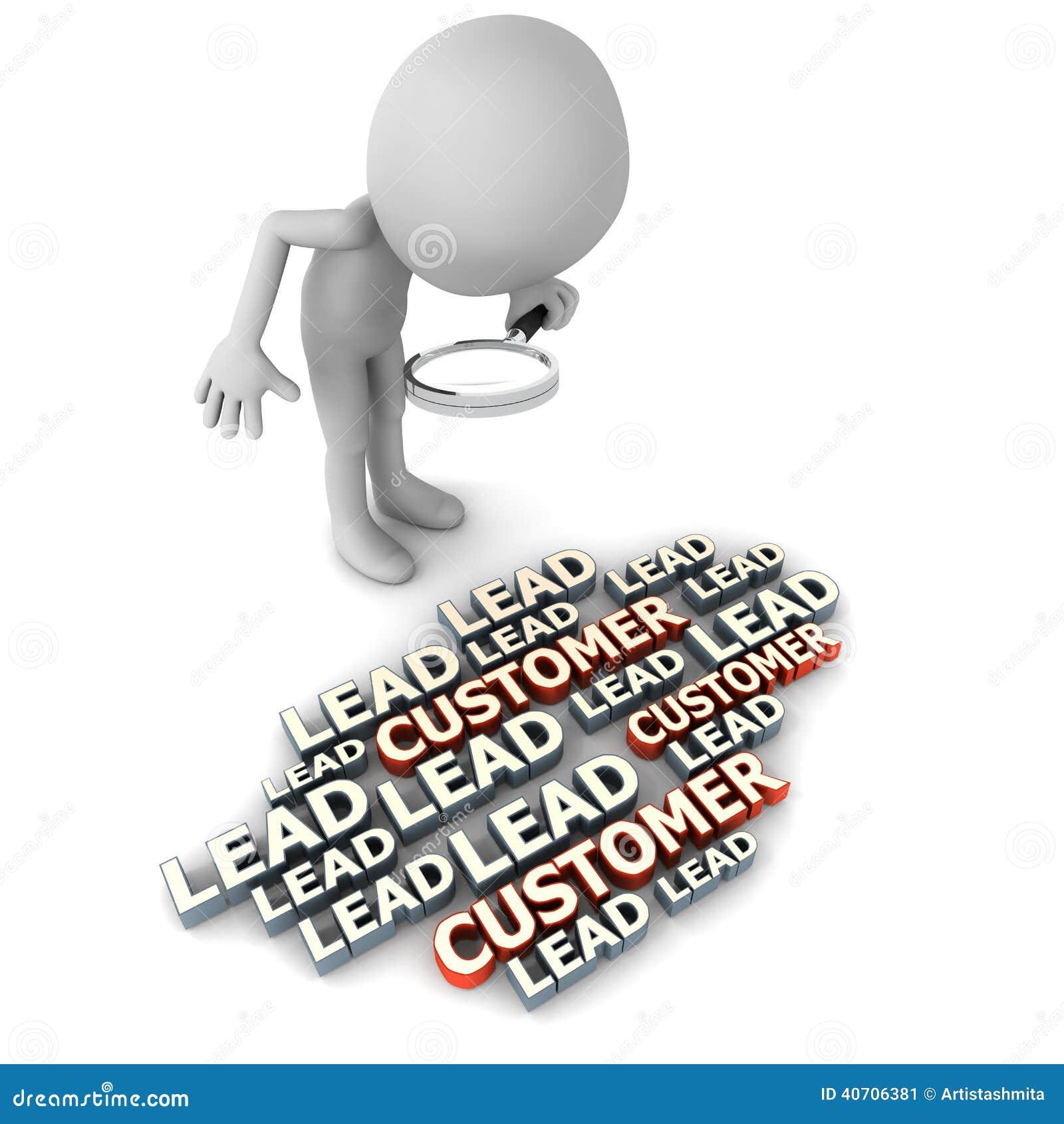 Blytak och kunder