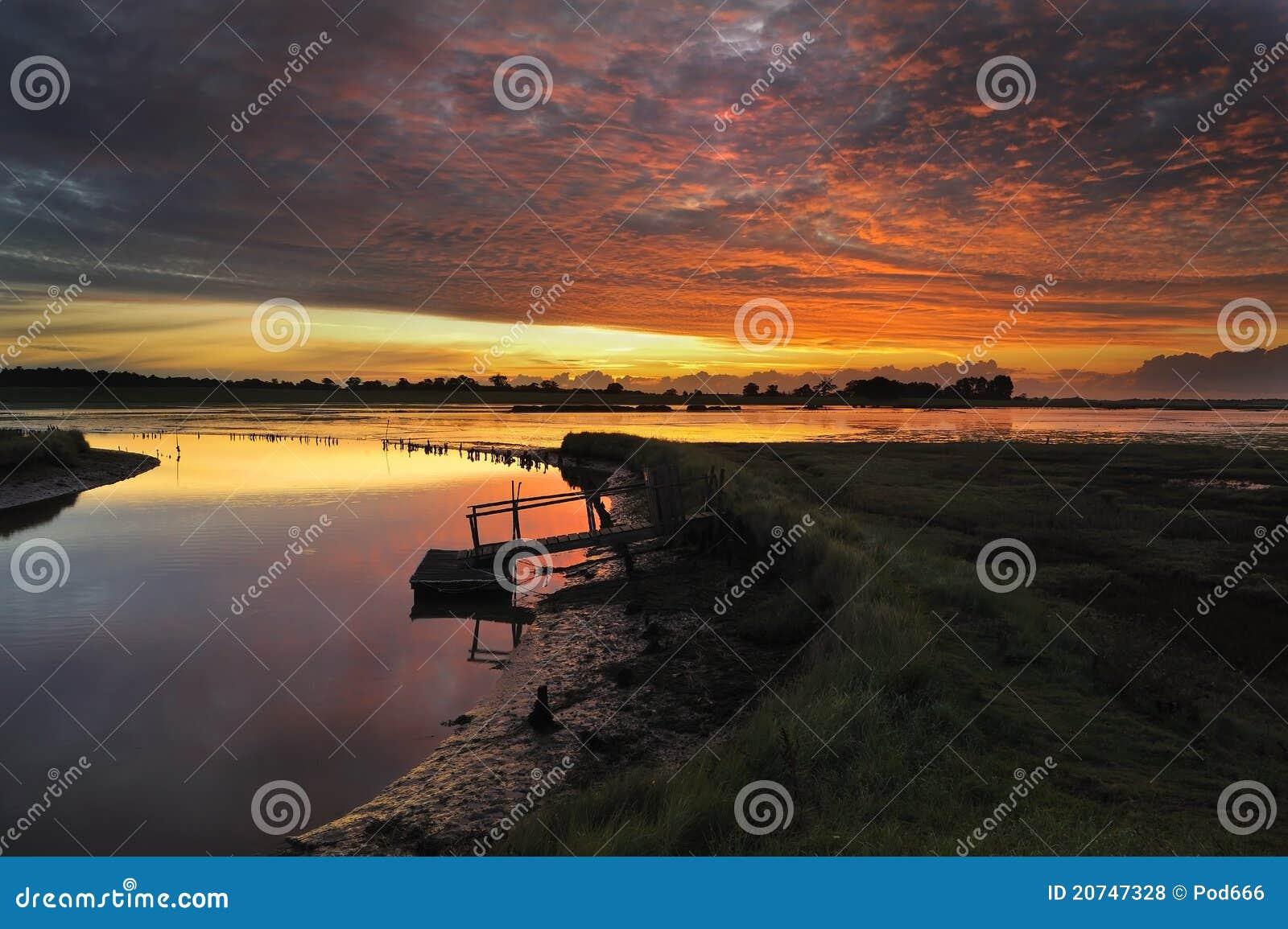 Blythburgh沼泽萨福克