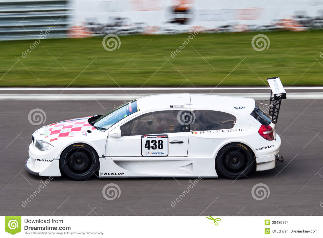 Bmw 1 Series Race Car Editorial Photography Image Of Laptimes