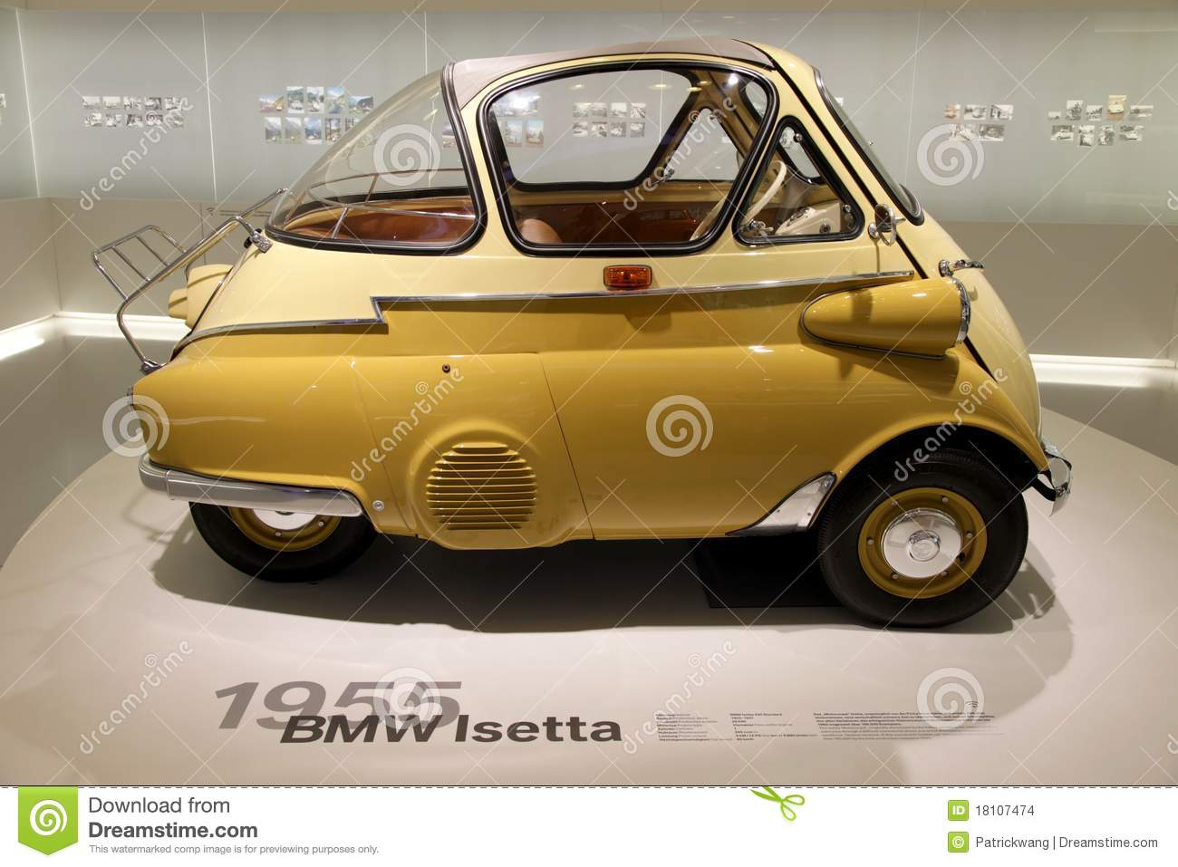 Bmw 1955 Isetta Editorial Stock Image Image 18107474