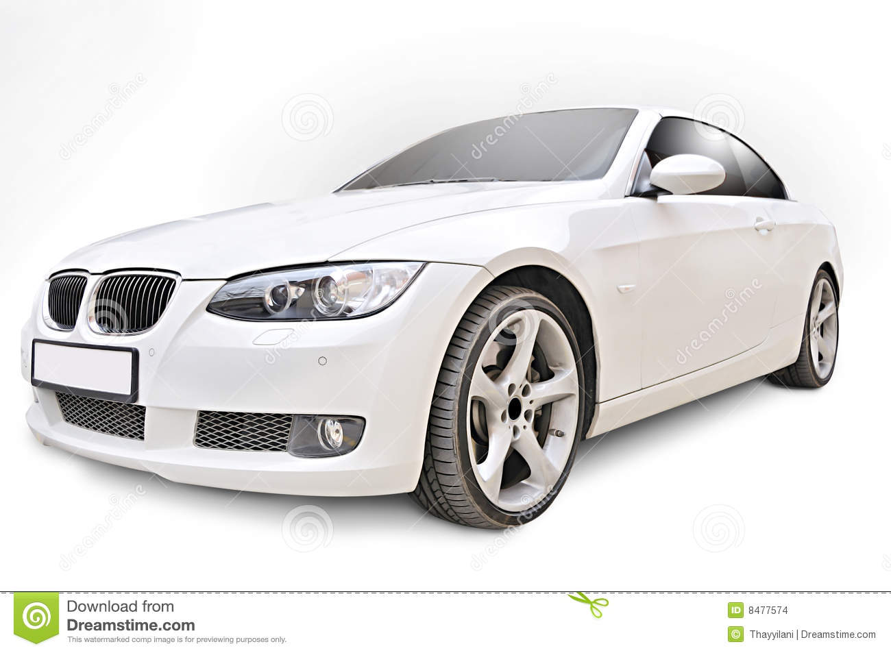 Bmw 335i Convertible Car Stock Photo Image Of Autoshow