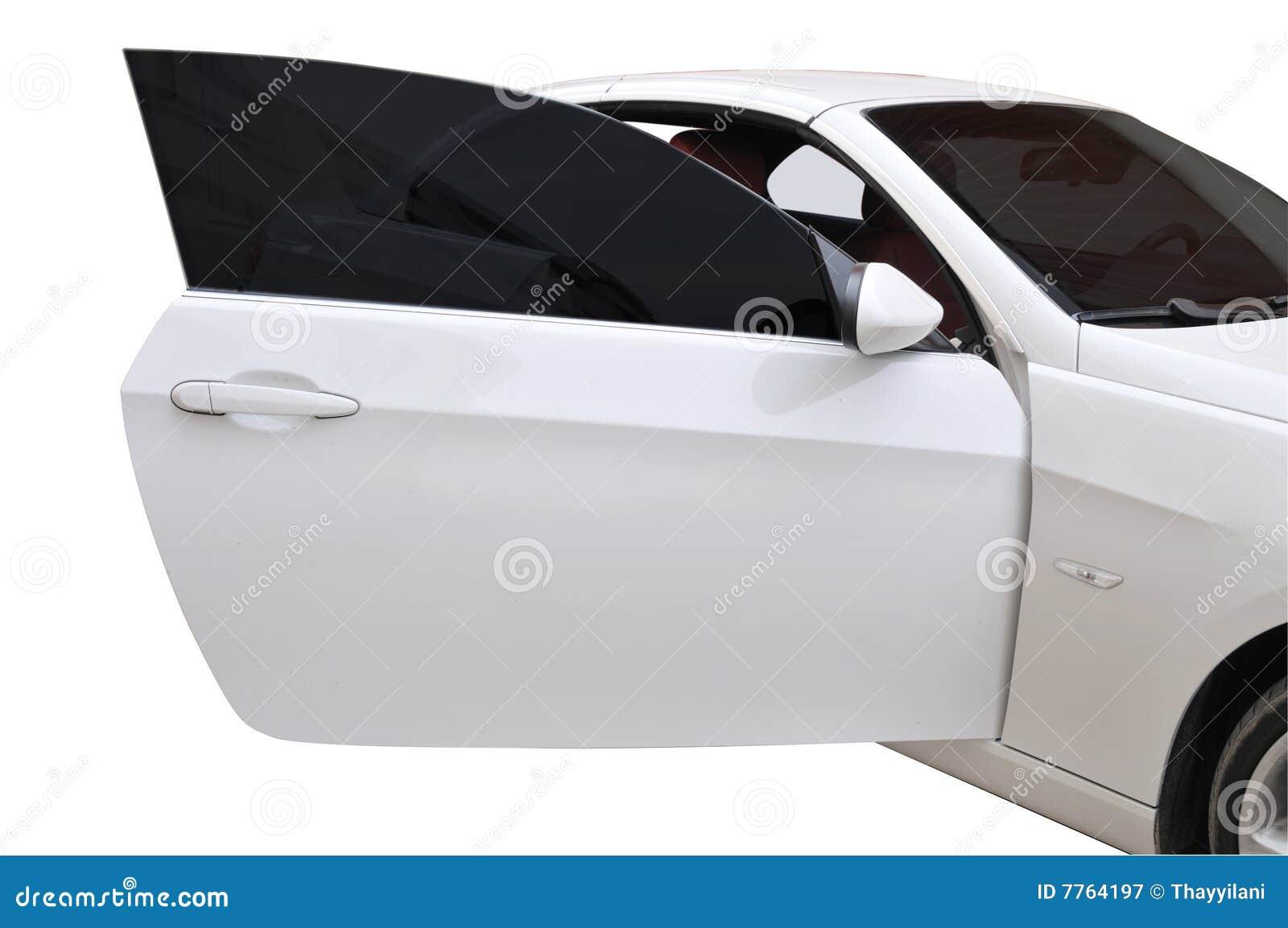 BMW 335i door open